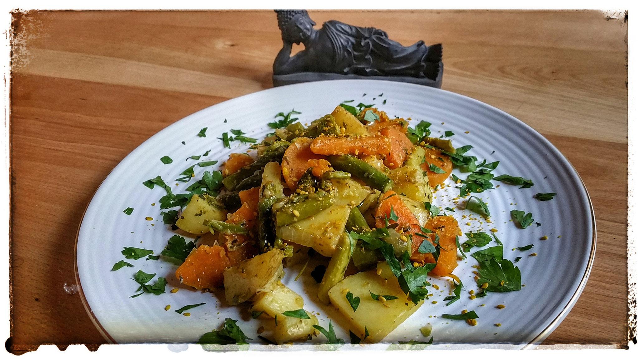 Dreierlei Gemüse