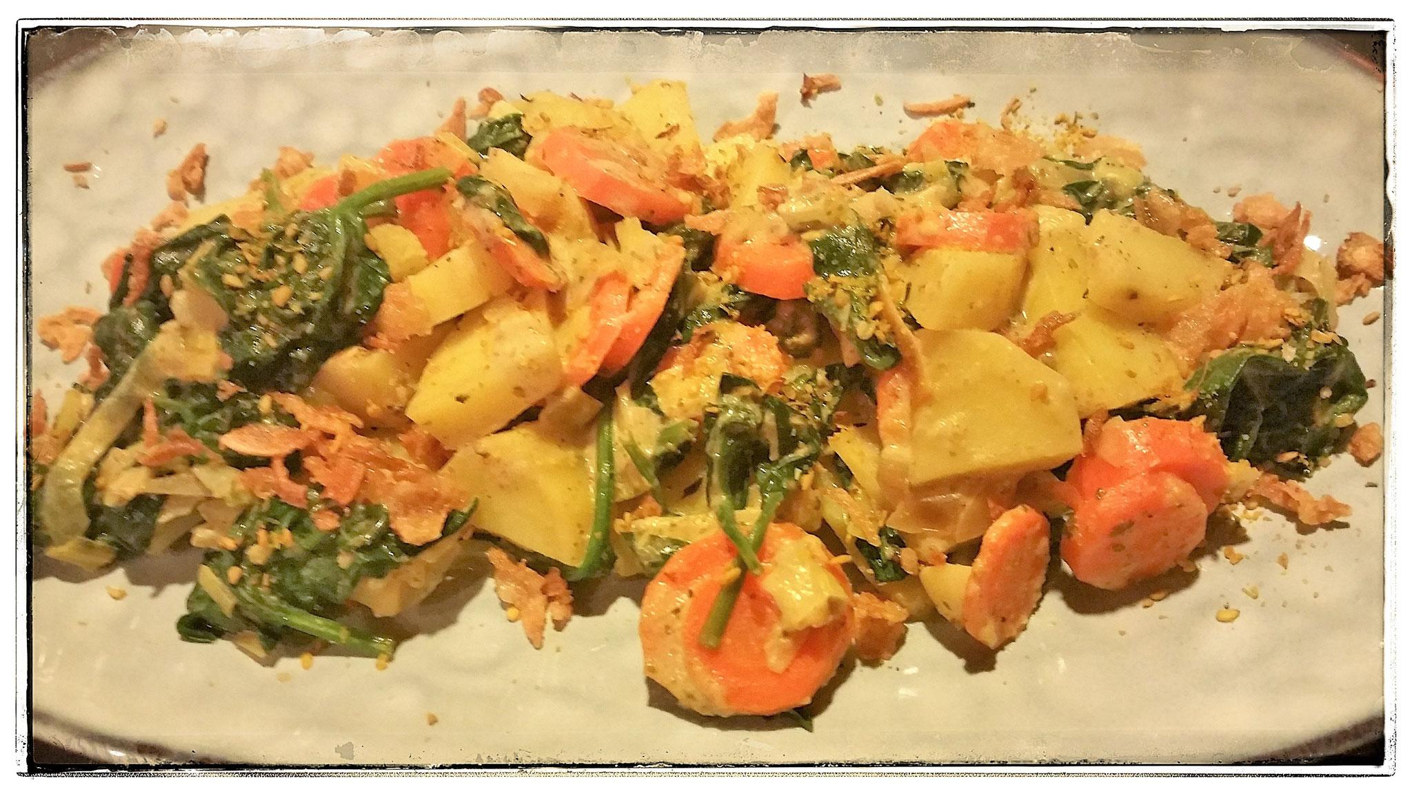 Gemüse-Kartoffel-Curry