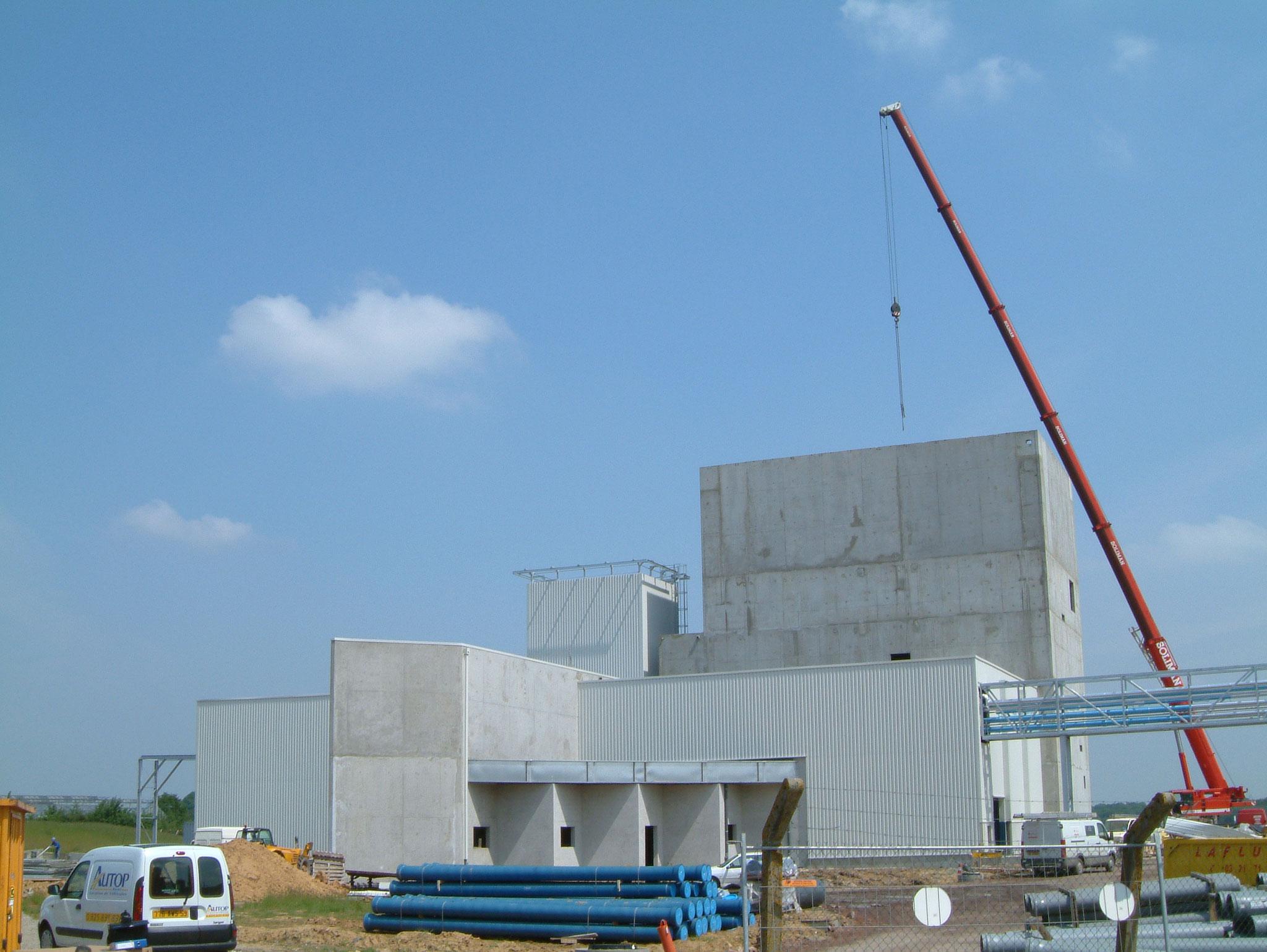 Unité de production site industriel à Saint-Pol-sur-Ternoise. Mission de Niveau 2.