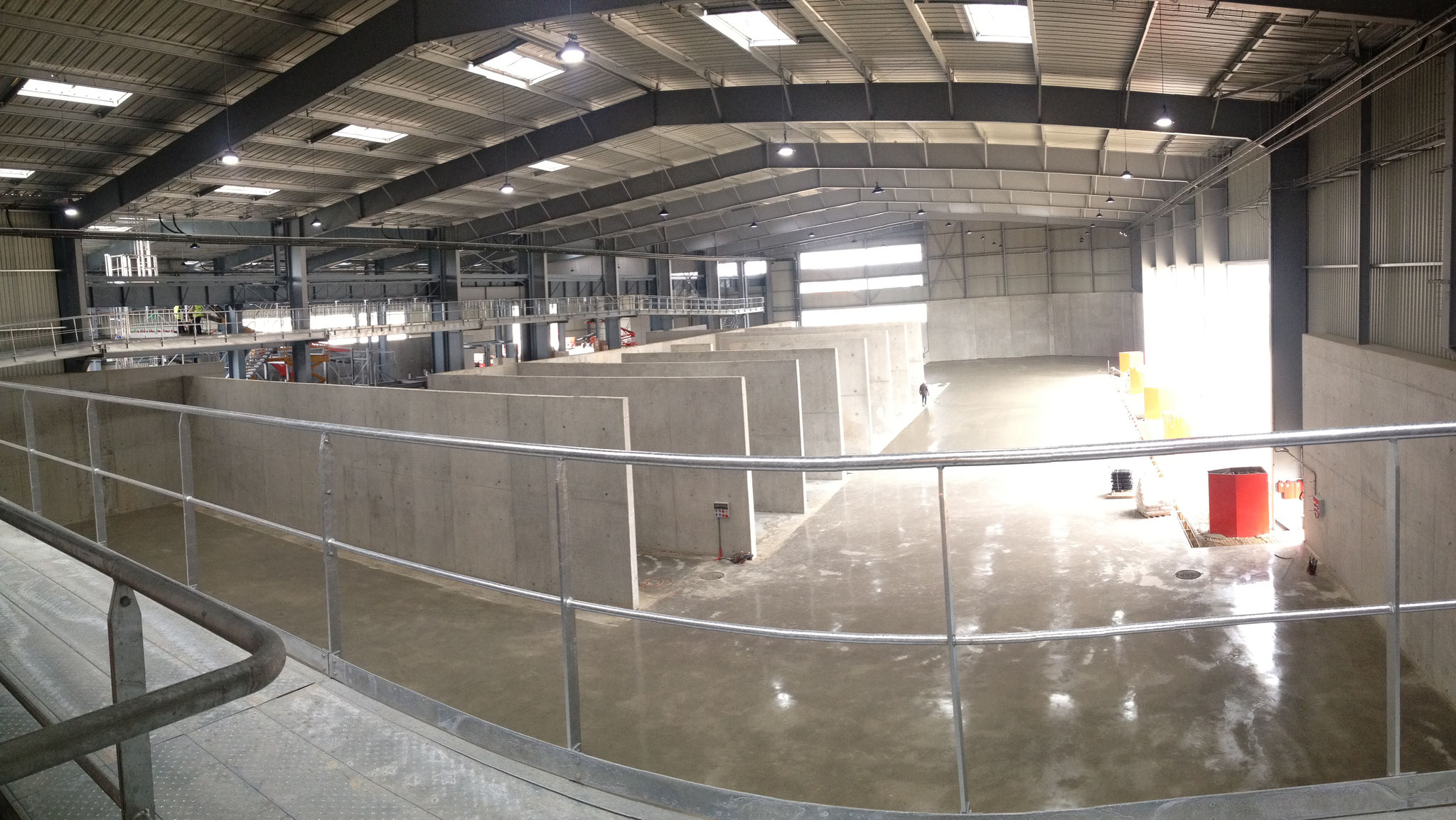 Construction d'un centre de tri à BONNEUIL-SUR-MARNE. Mission de Niveau 2.