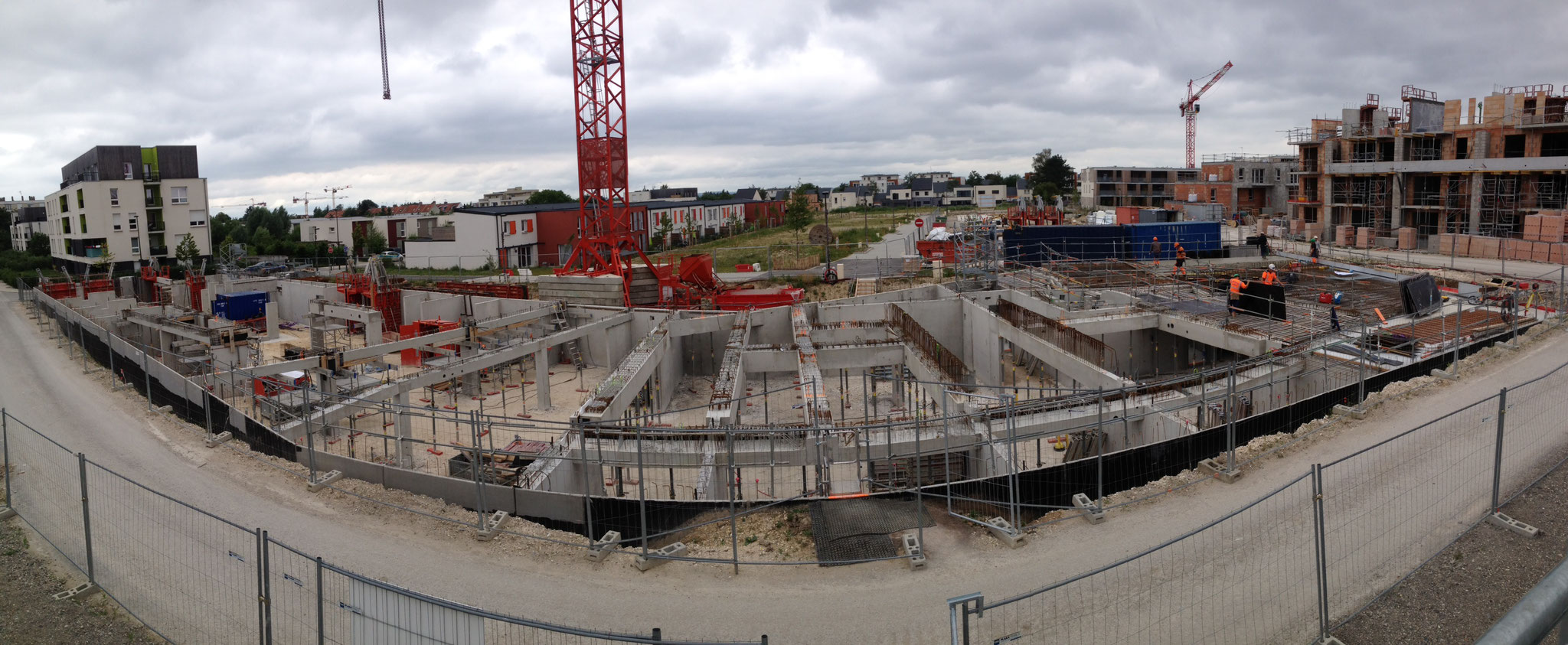 Construction de 51 logements collectifs à AMIENS. Mission de Niveau 2.