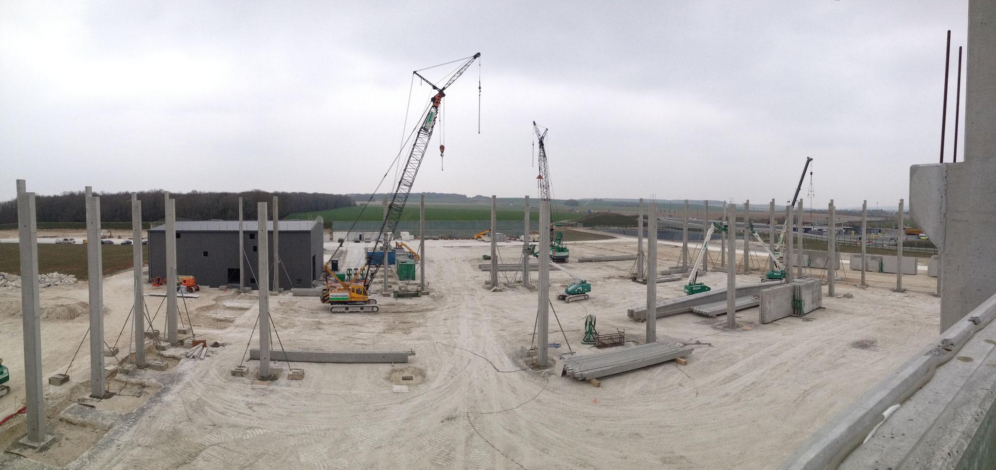 Site industriel à GLISY. Mission SPS Niveau 2.
