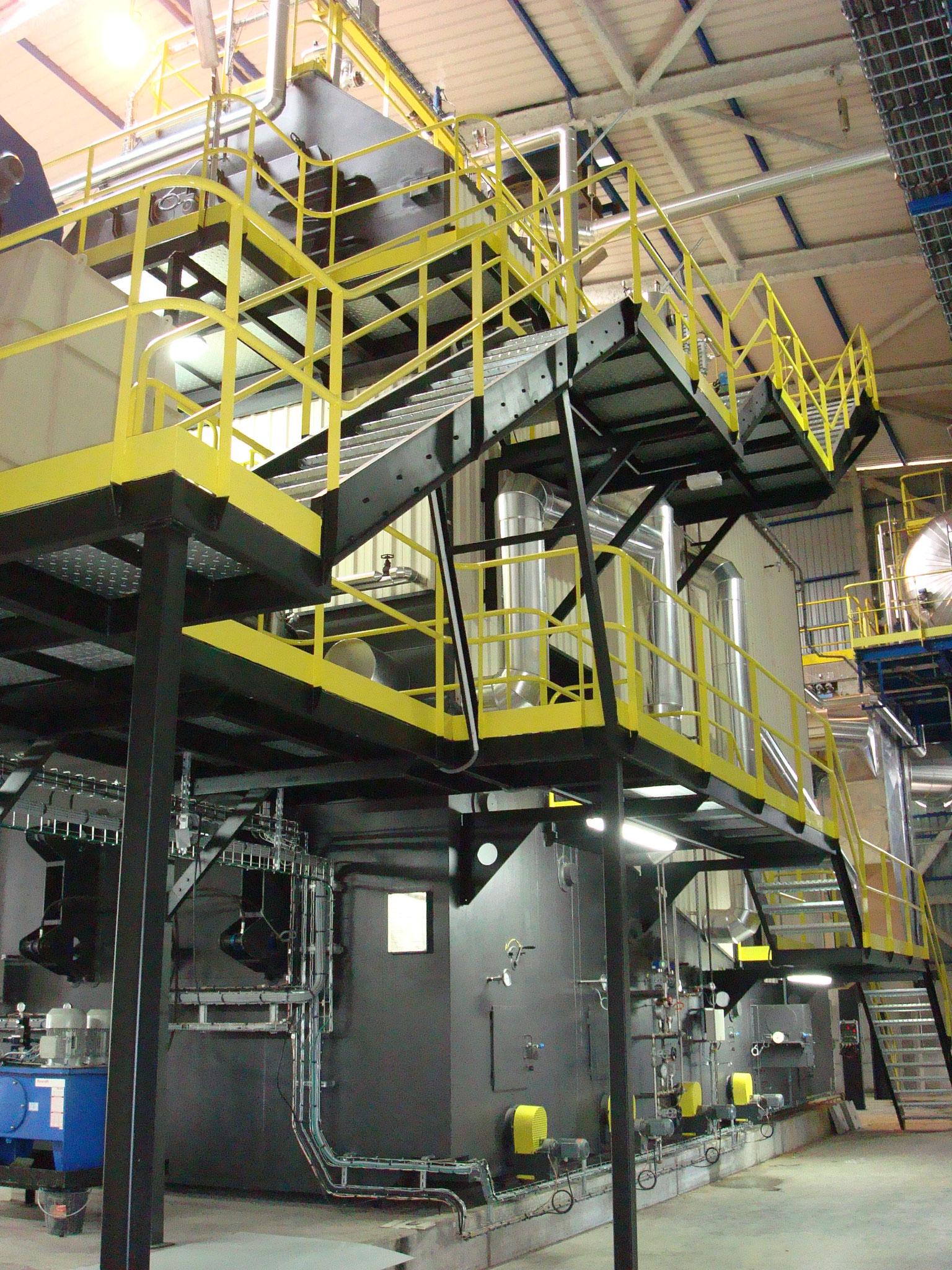 Mise en place Process dans unitée de production à Saint Pôl sur Ternoise. Mission de Niveau 2.
