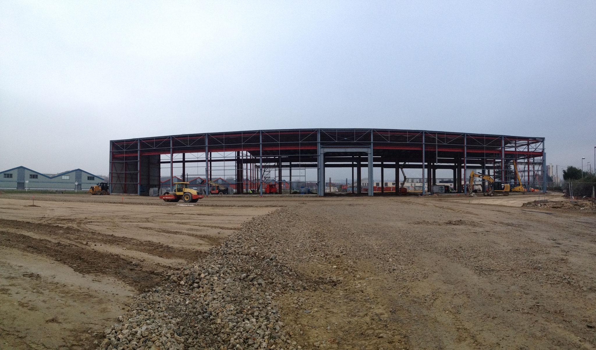 Construction d'un centre de tri à BONNEUIL SUR MARNE. Mission de Niveau 2.