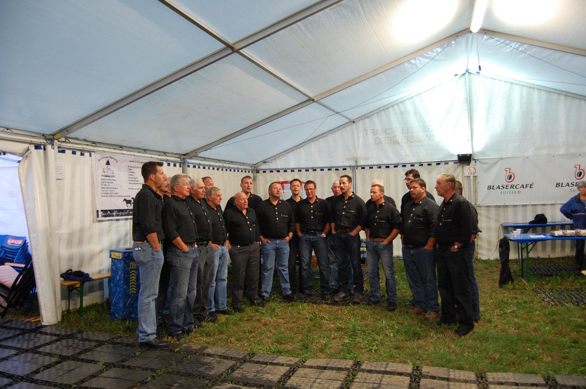 Das 7ner Chörli eröffnet das 14. OAKS.