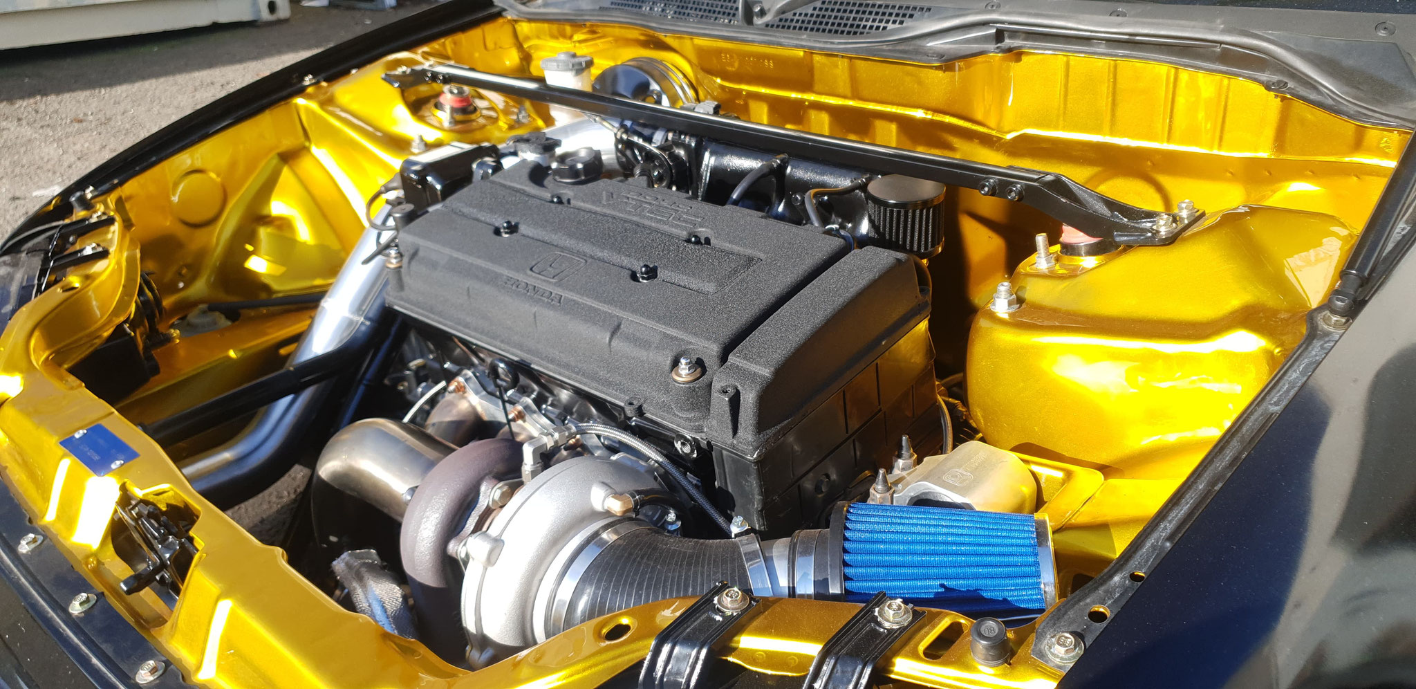 Turbo Honda Build