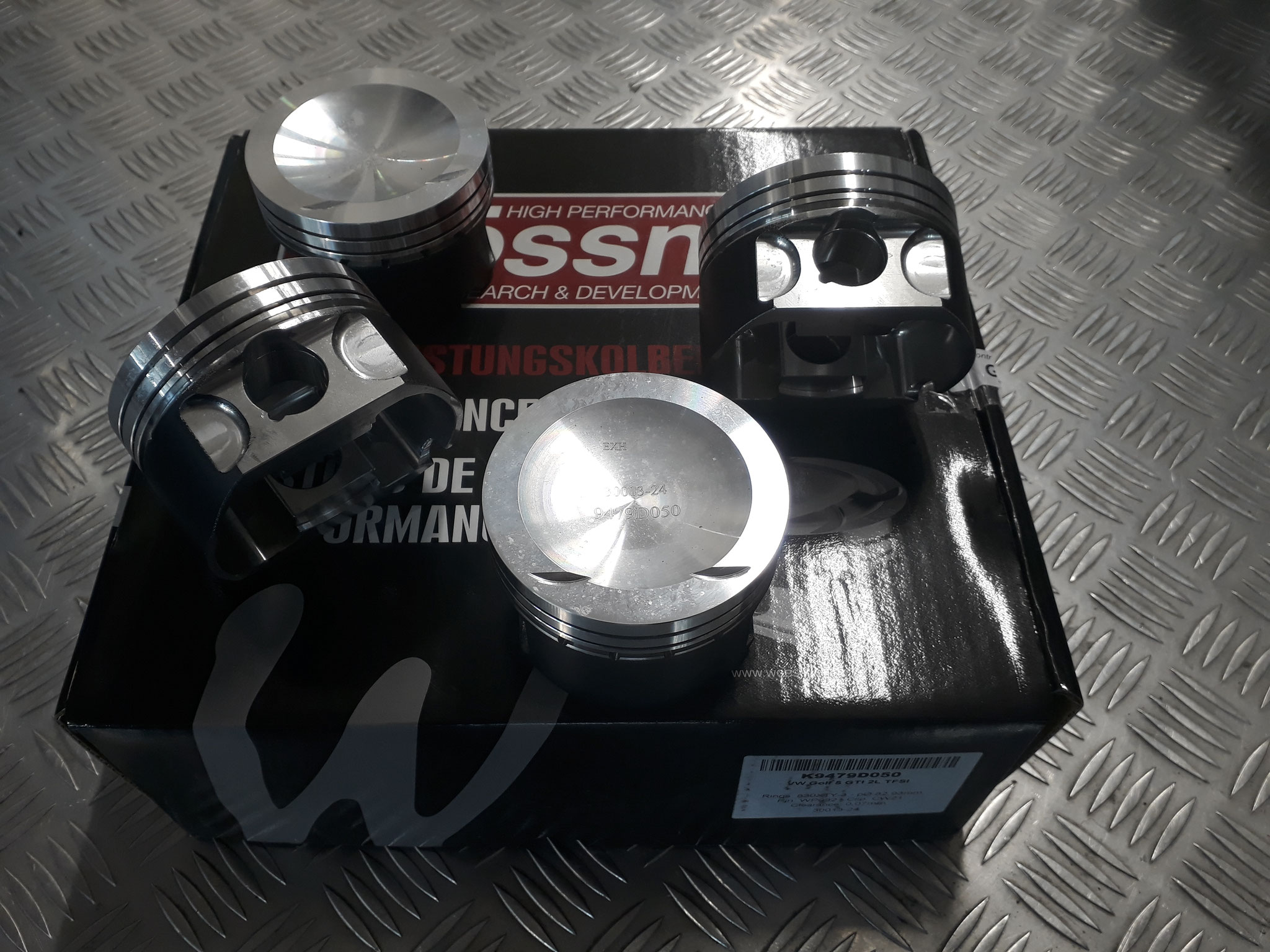 TFSI Wossner forged pistons