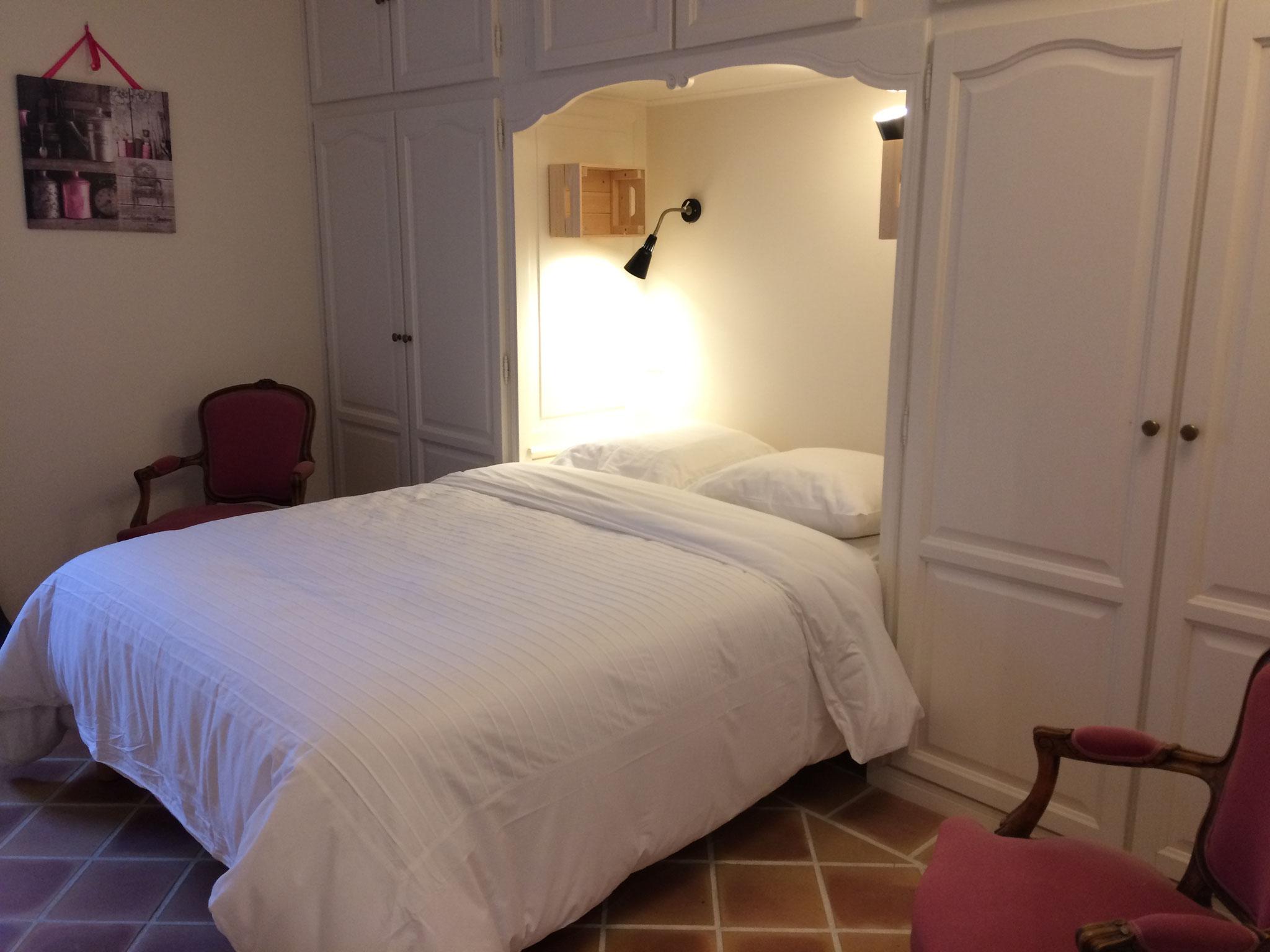 Location à Chenonceaux La Chambre Fleur Blanche Gite de l'Amandier