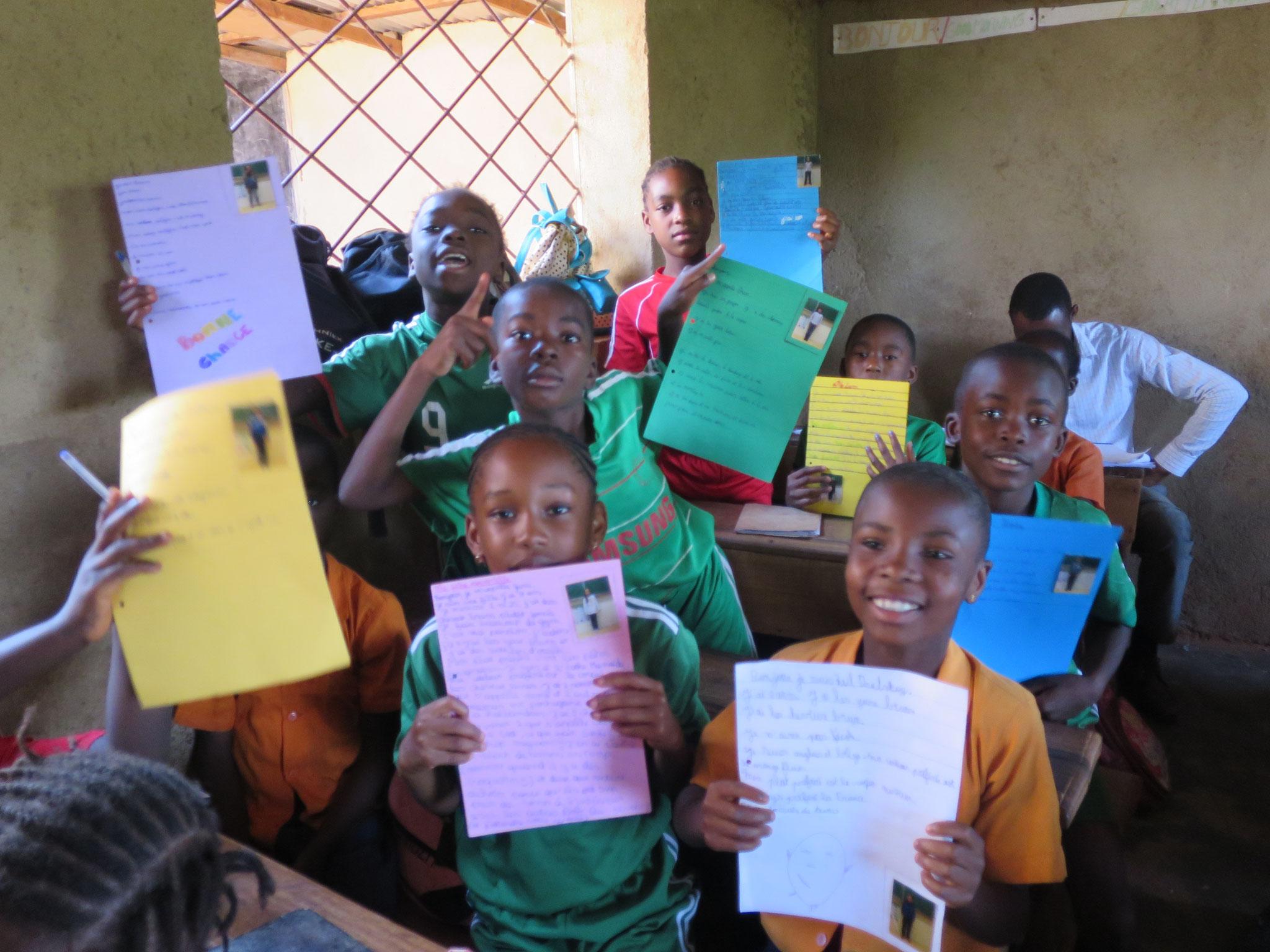échange pédagogique - correspendance par lettre avec des élèves en Europe