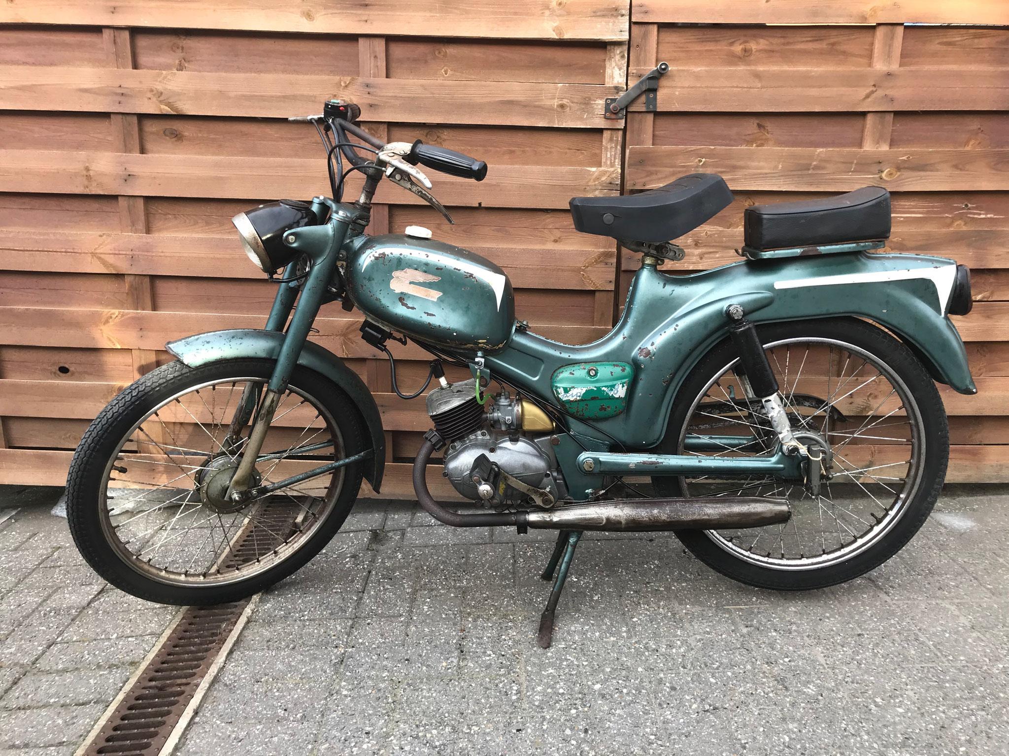 Oldtimer Ducati Brisk