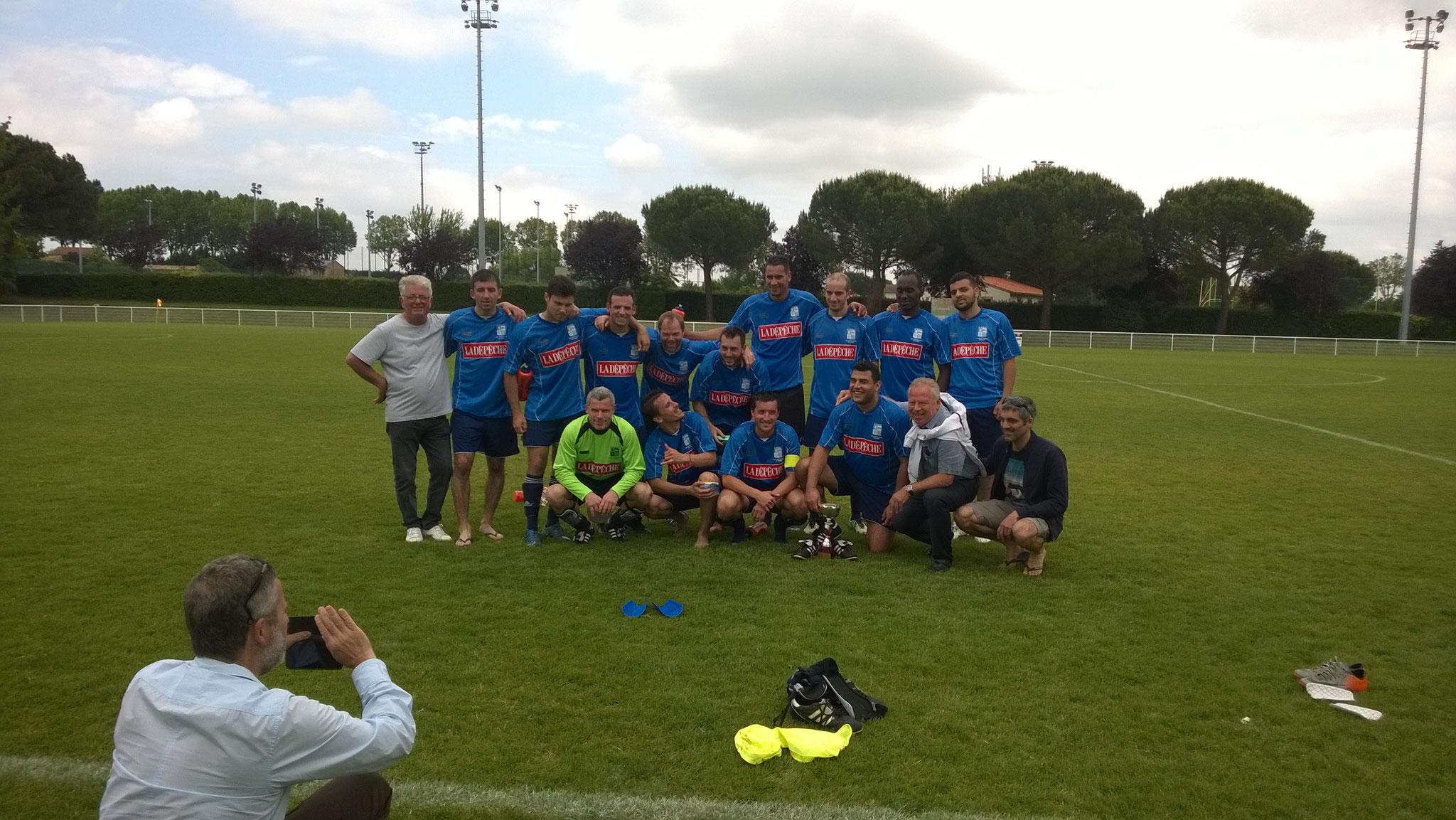 2015-2016 : Finaliste de la coupe régionale des réserves