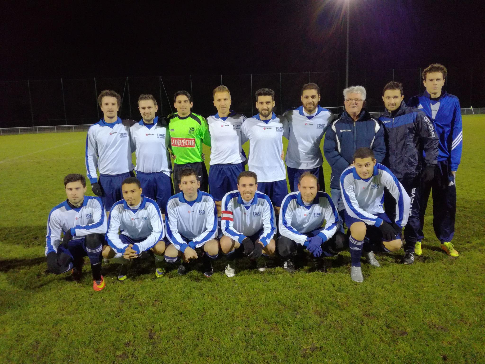2017 12 11 - Match contre Carrefour Plaisance