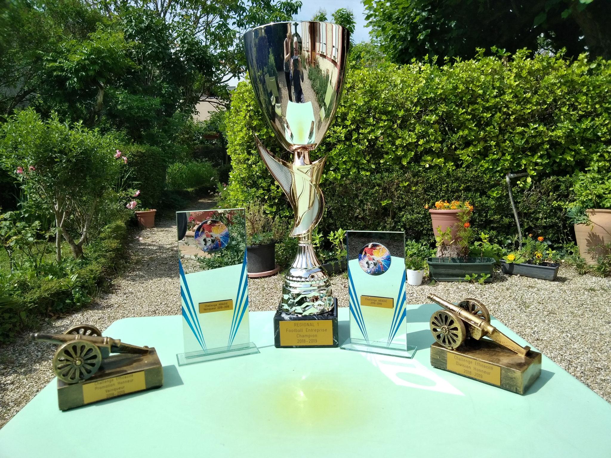 Champion Régional 1 + Challenges Efficacité et ABADIE R1 & R2
