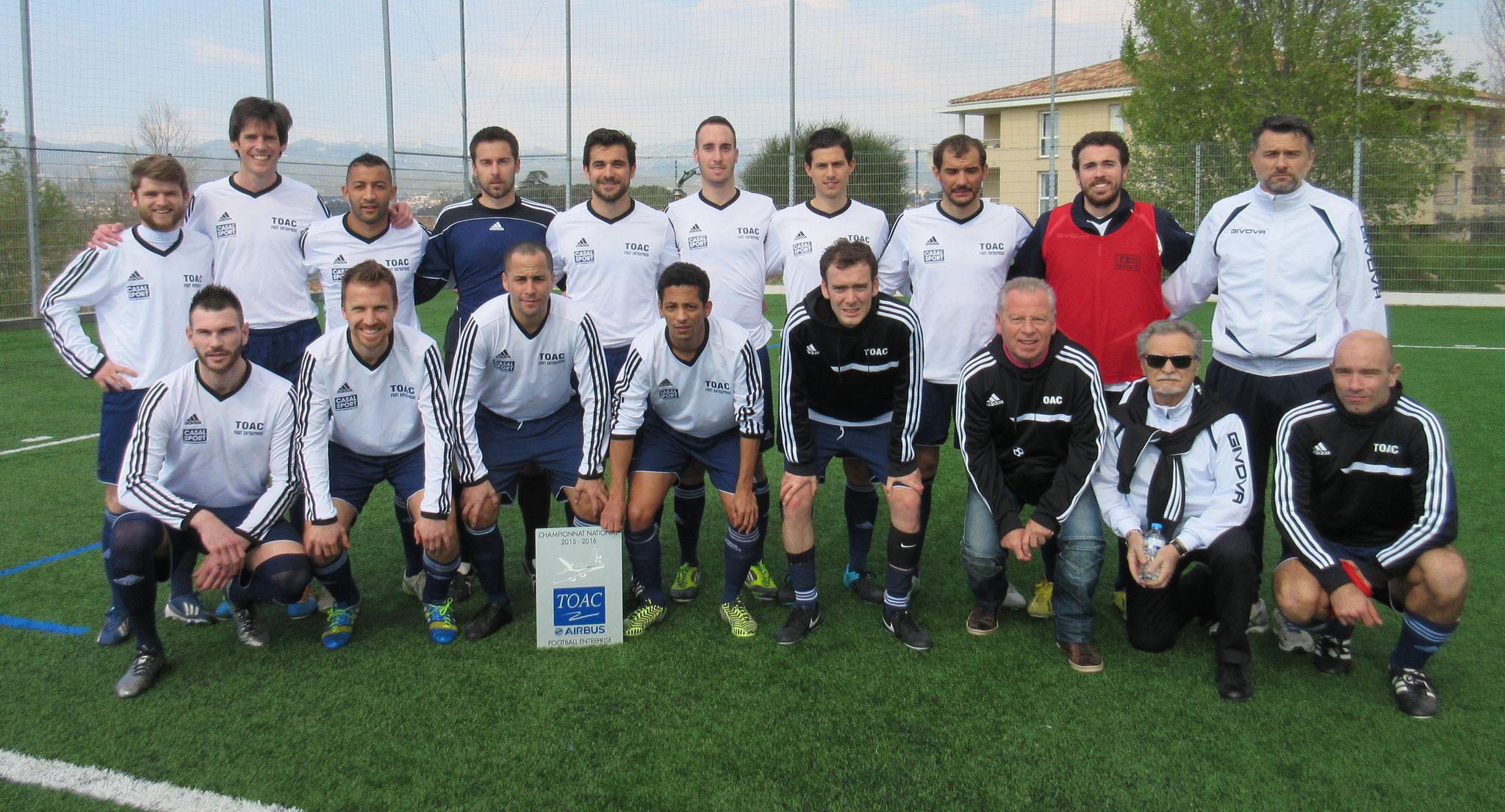 2015-16 - Victoire 2 - 1 à Marseille BOCAGE et qualification pour les 1/4