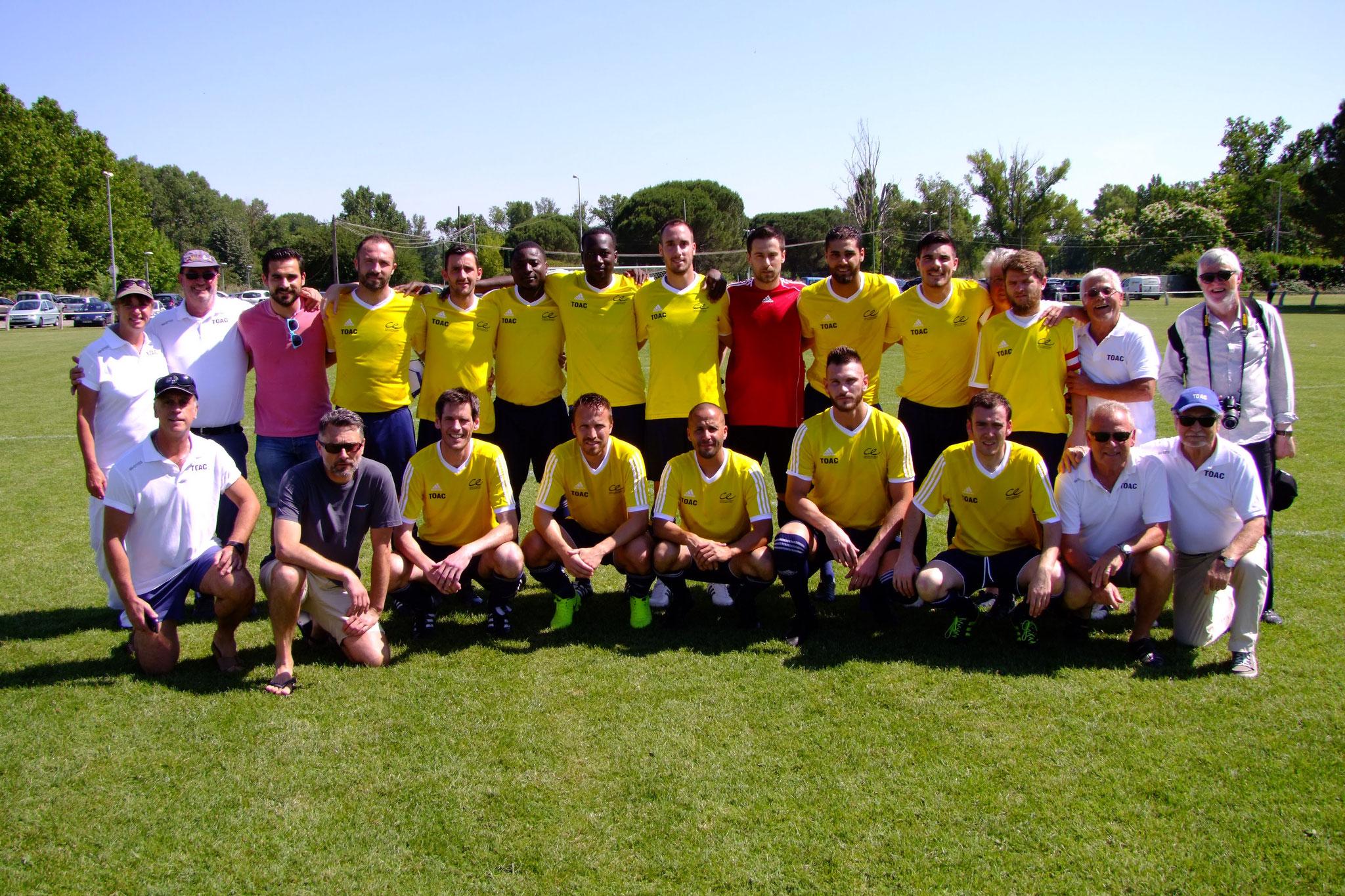 Finale Coupe Régionale - TOAC bat Liebherr 5 - 3