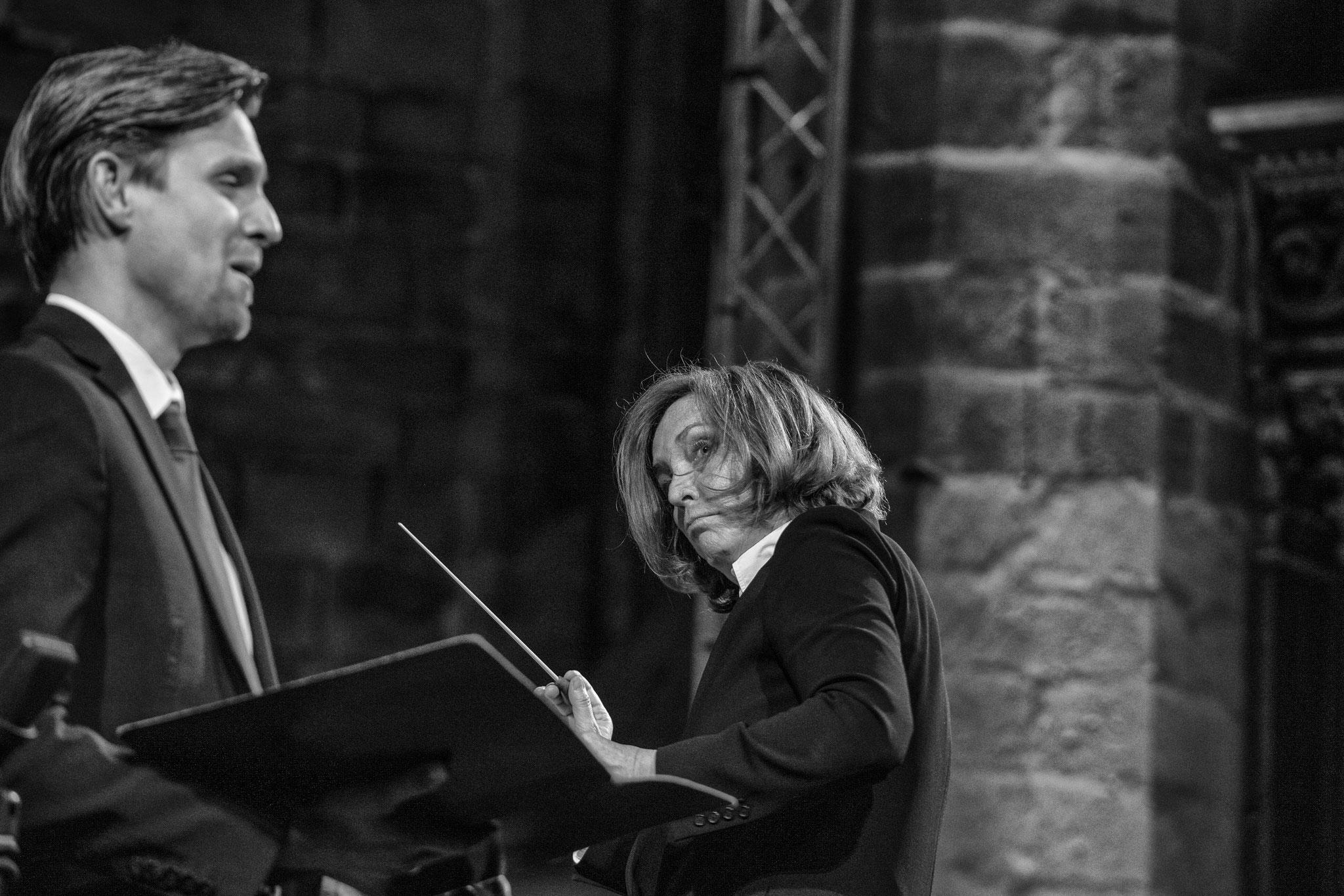 Festival de la Chaise-Dieu. La création de Haydn, direction Laurence Equilbey. © Vincent Jolfre
