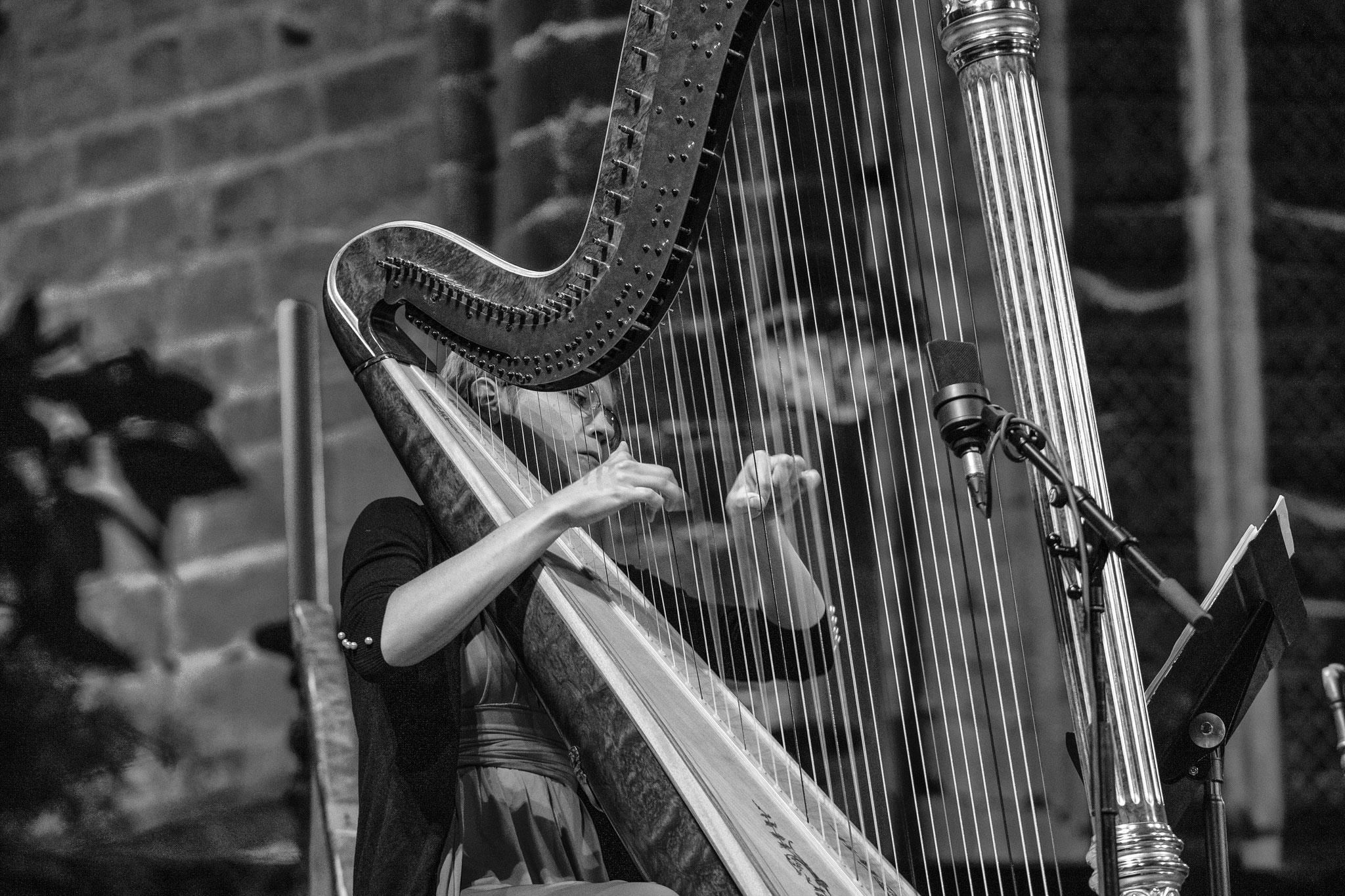 Festival de la Chaise-Dieu. Orchestre d'Auvergne, direction Roberto Forès Veses. © Vincent Jolfre