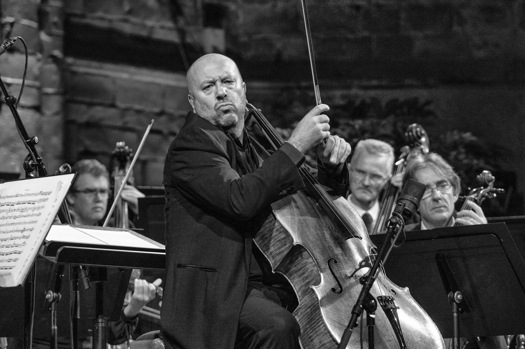 Festival de la Chaise-Dieu. Concerto de Haydn pour Violoncelle, Enrico Dindo. © Vincent Jolfre