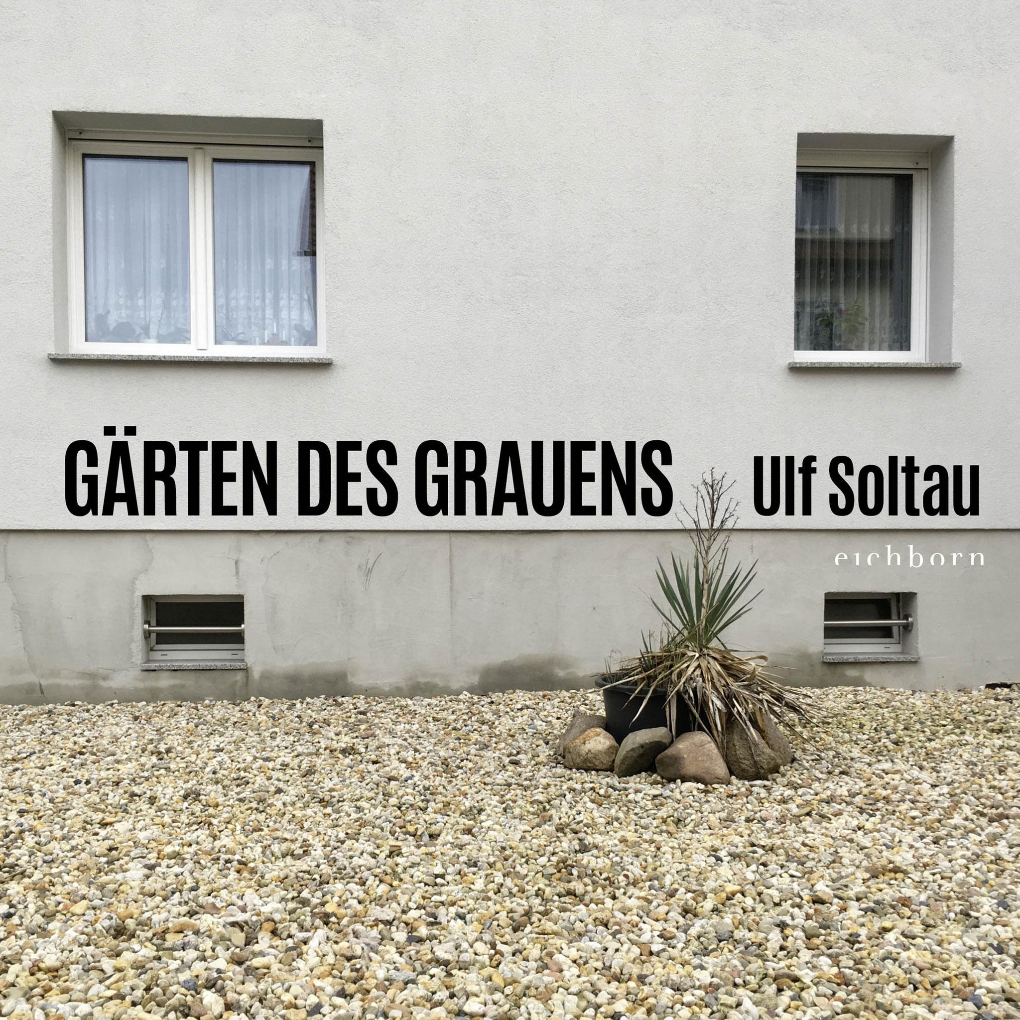 """""""Gärten des Grauens"""" als Buch (Titelseite), Band 1, von Ulf Soltau"""