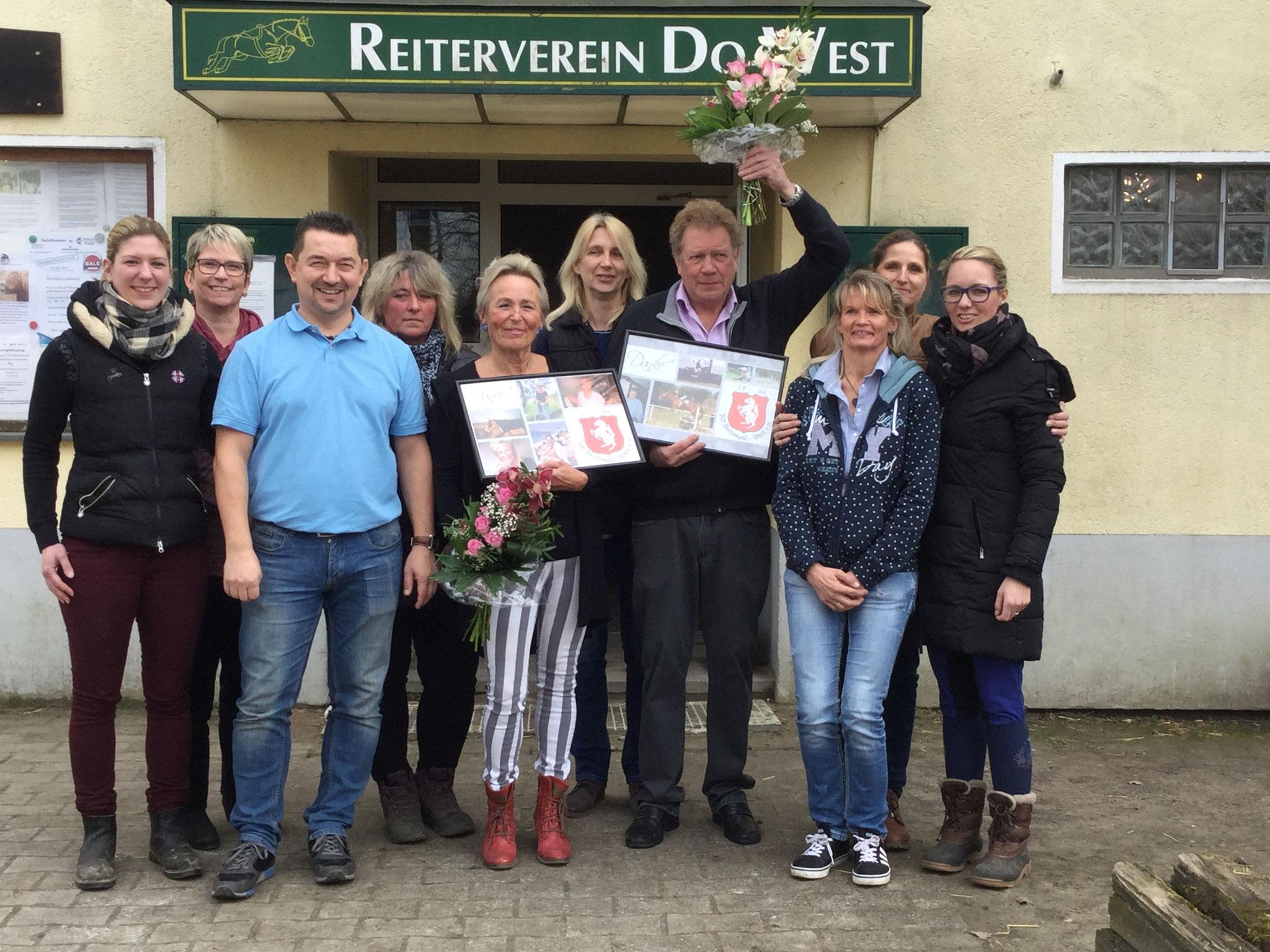 Neu im Vorstand: Brigitte Bartnik, Eileen Bednarz, Bettina Padberg