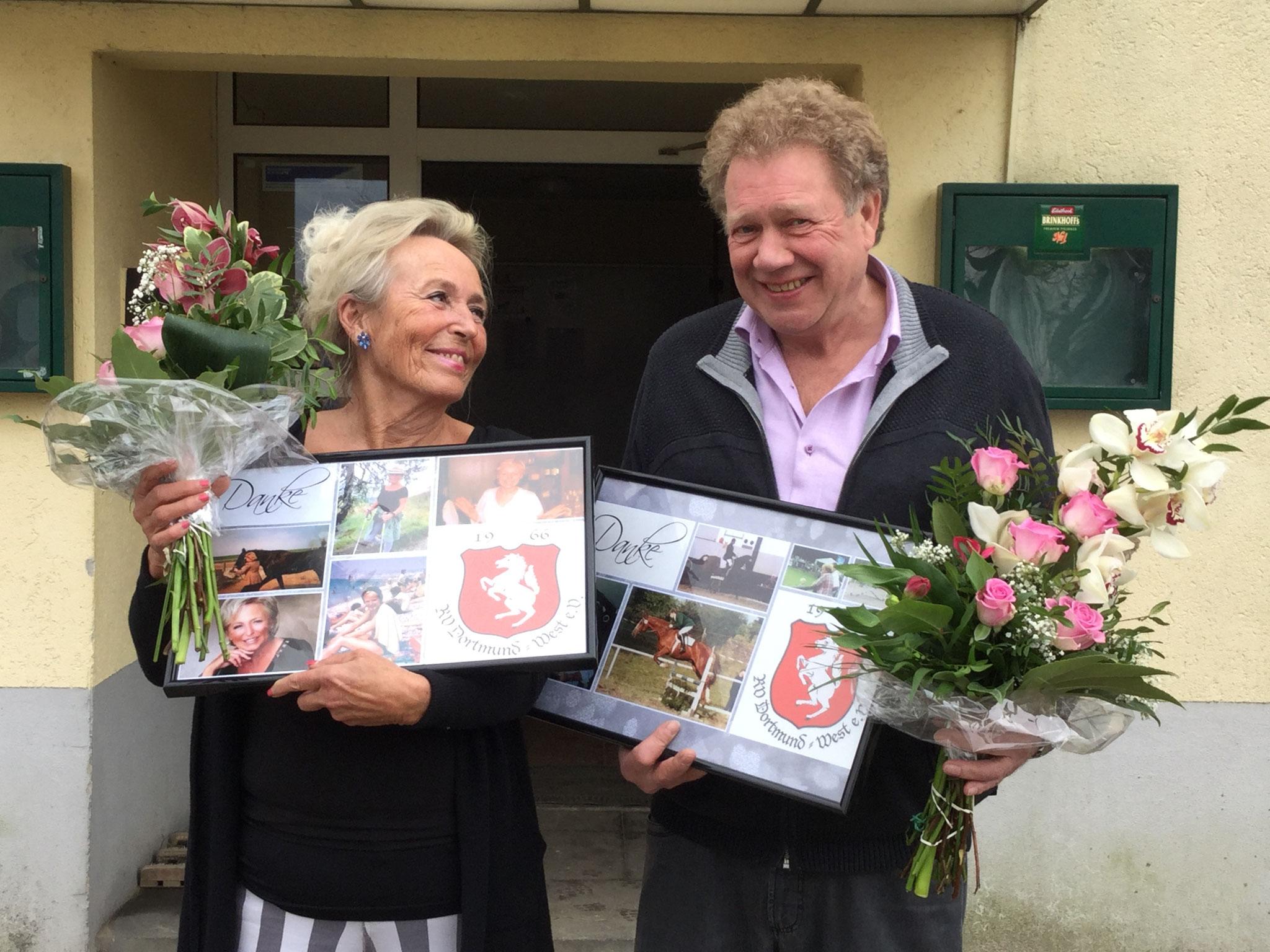 Karin Bottländer und Klaus Menkhaus wurden verabschiedet.