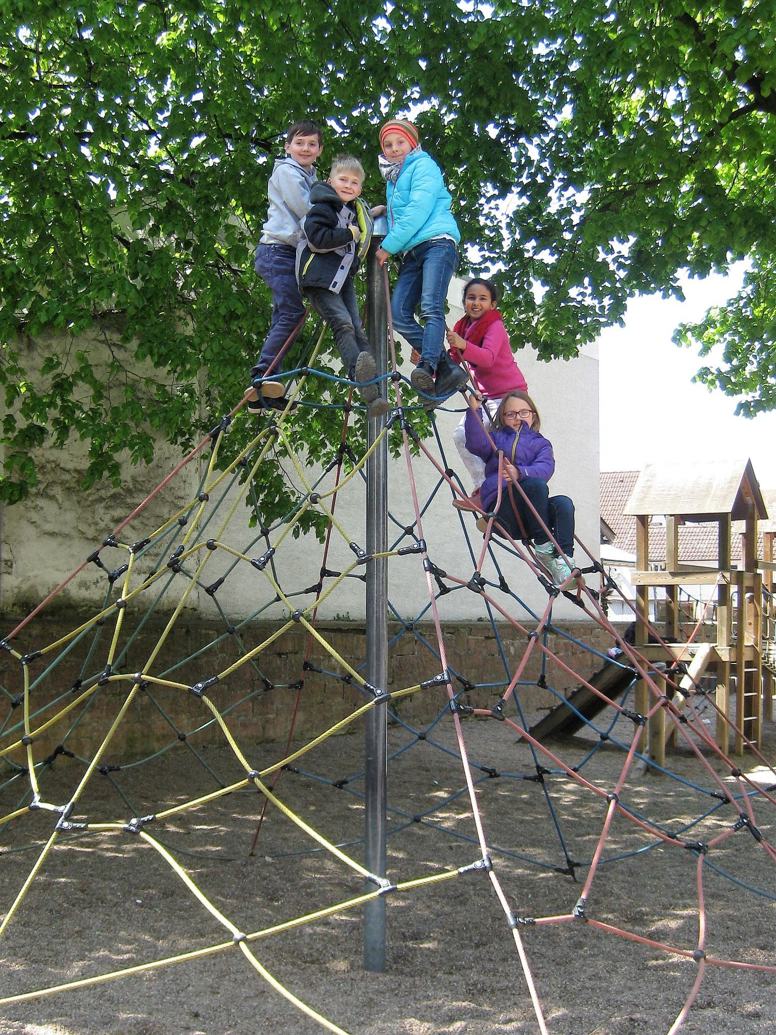 Die Kletterpyramide