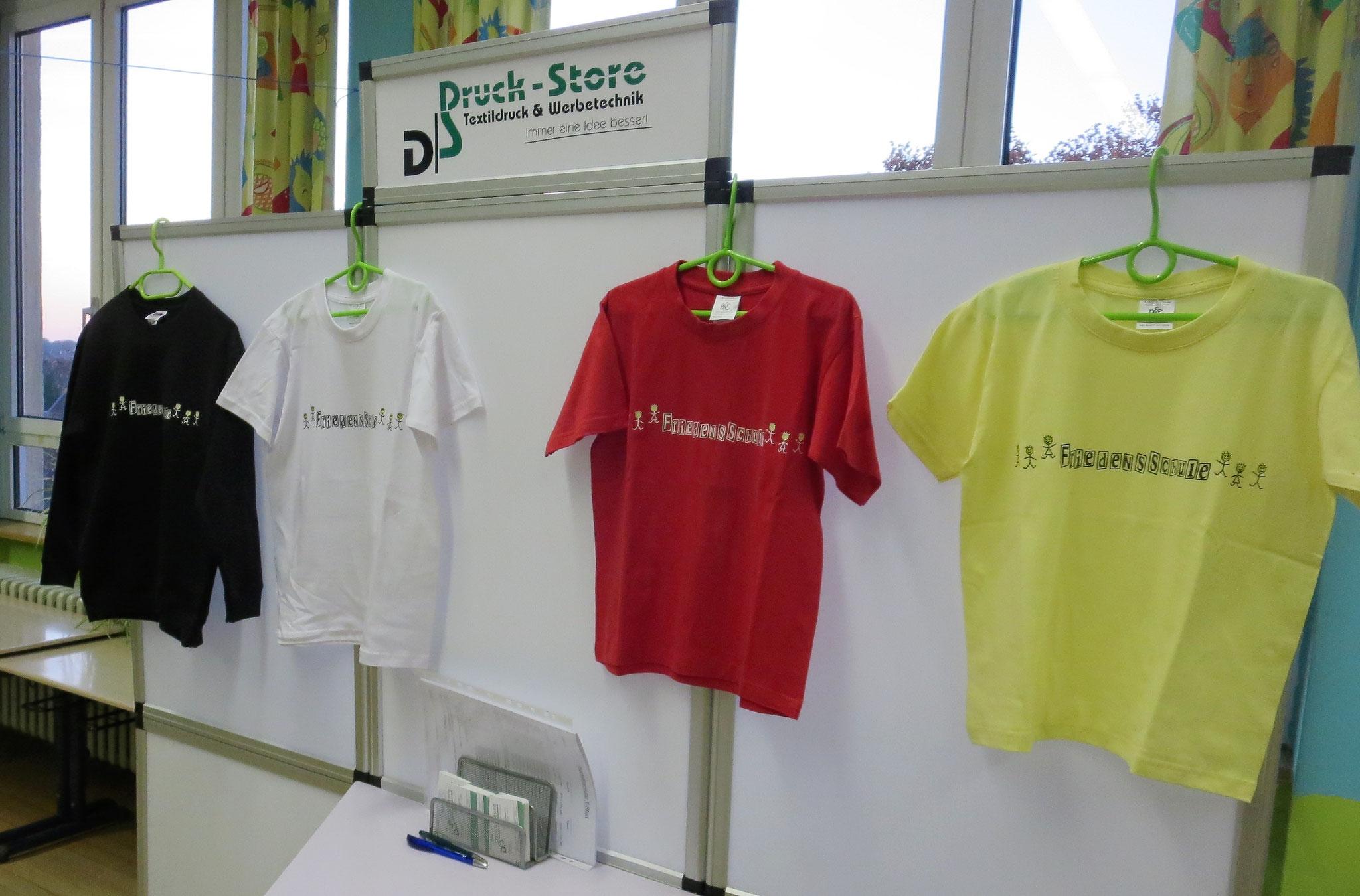 Vorstellung unserer Schul-T-Shirts
