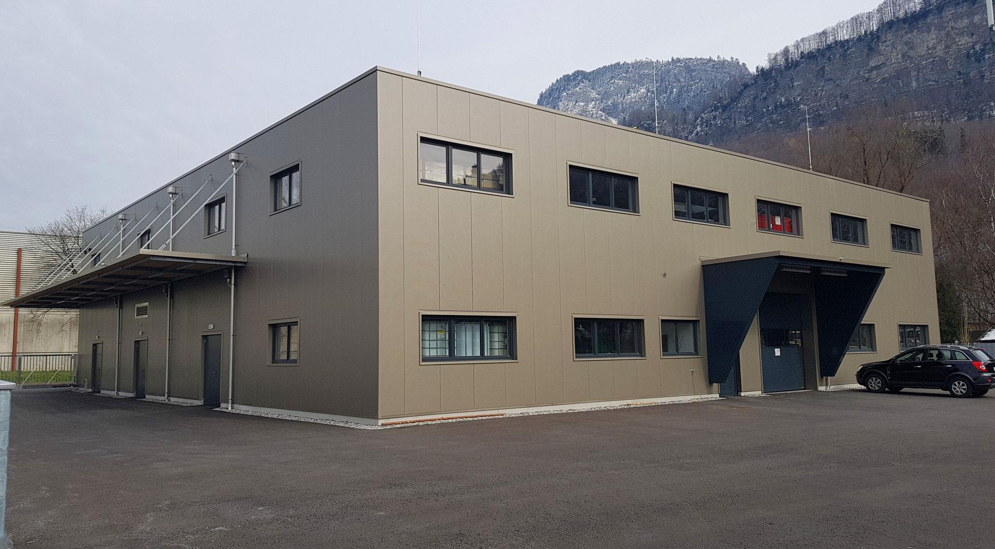Betriebsgebäude Tevier
