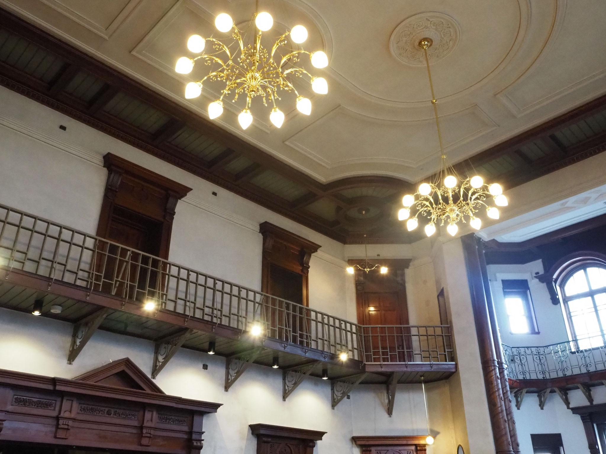岩手銀行赤レンガ館の内部