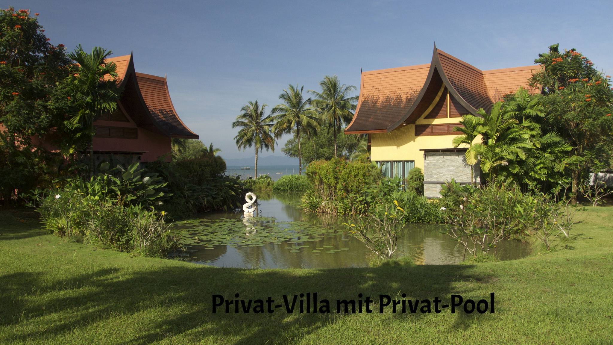 Privat-Villa mit Privat-Pool