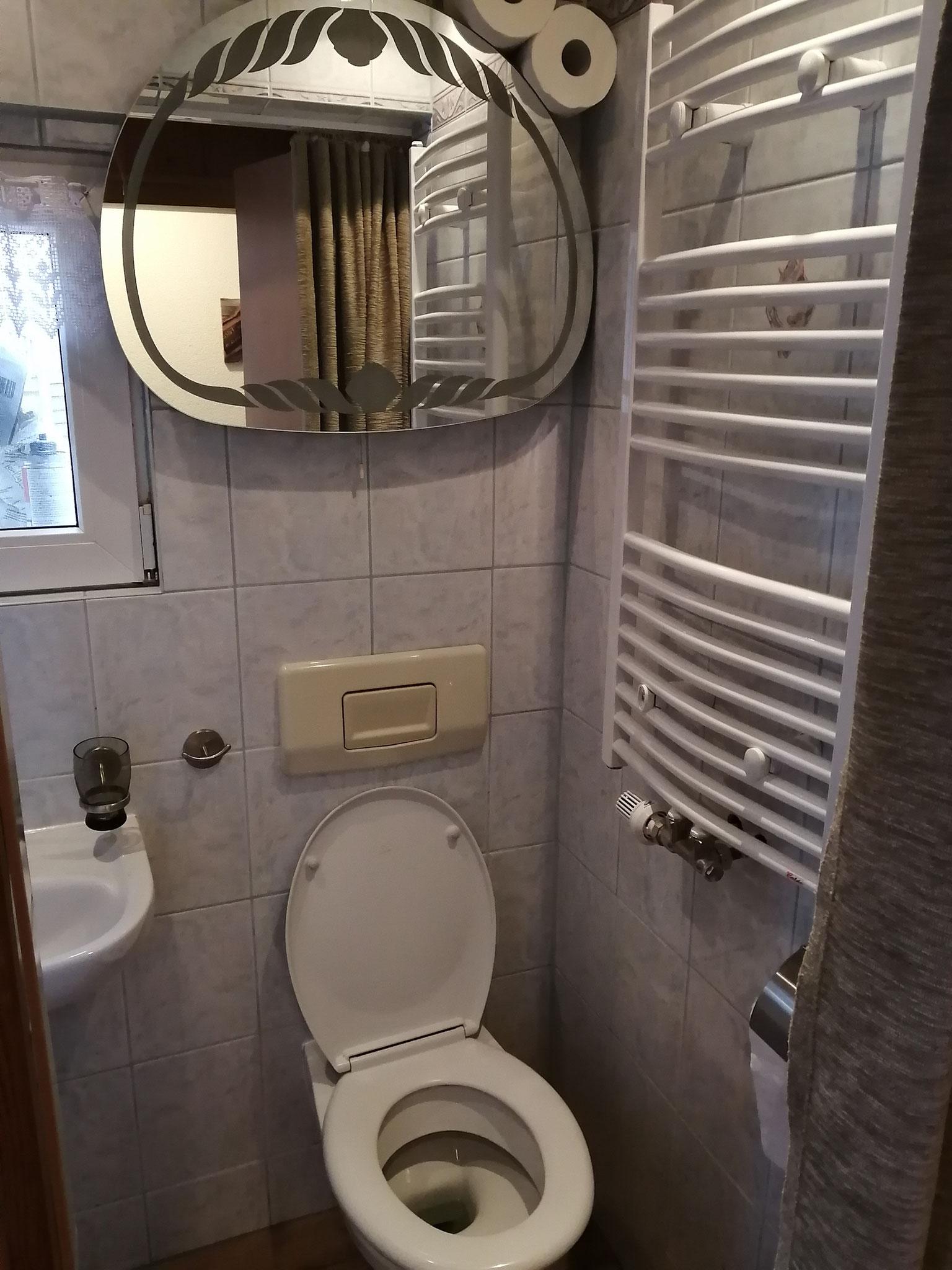 1. Bad mit Dusche und WC