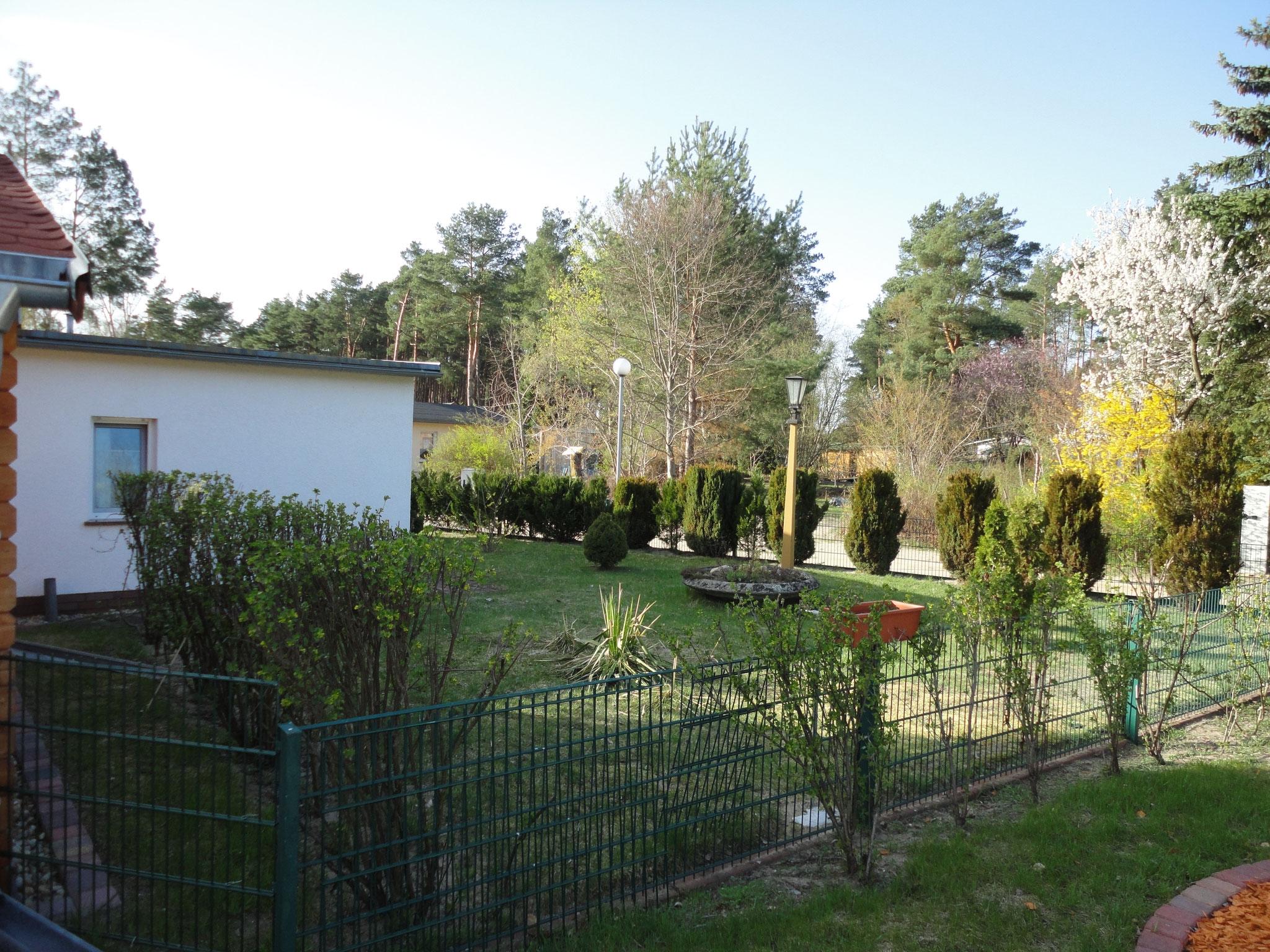 Blick zum Garten Haus 25