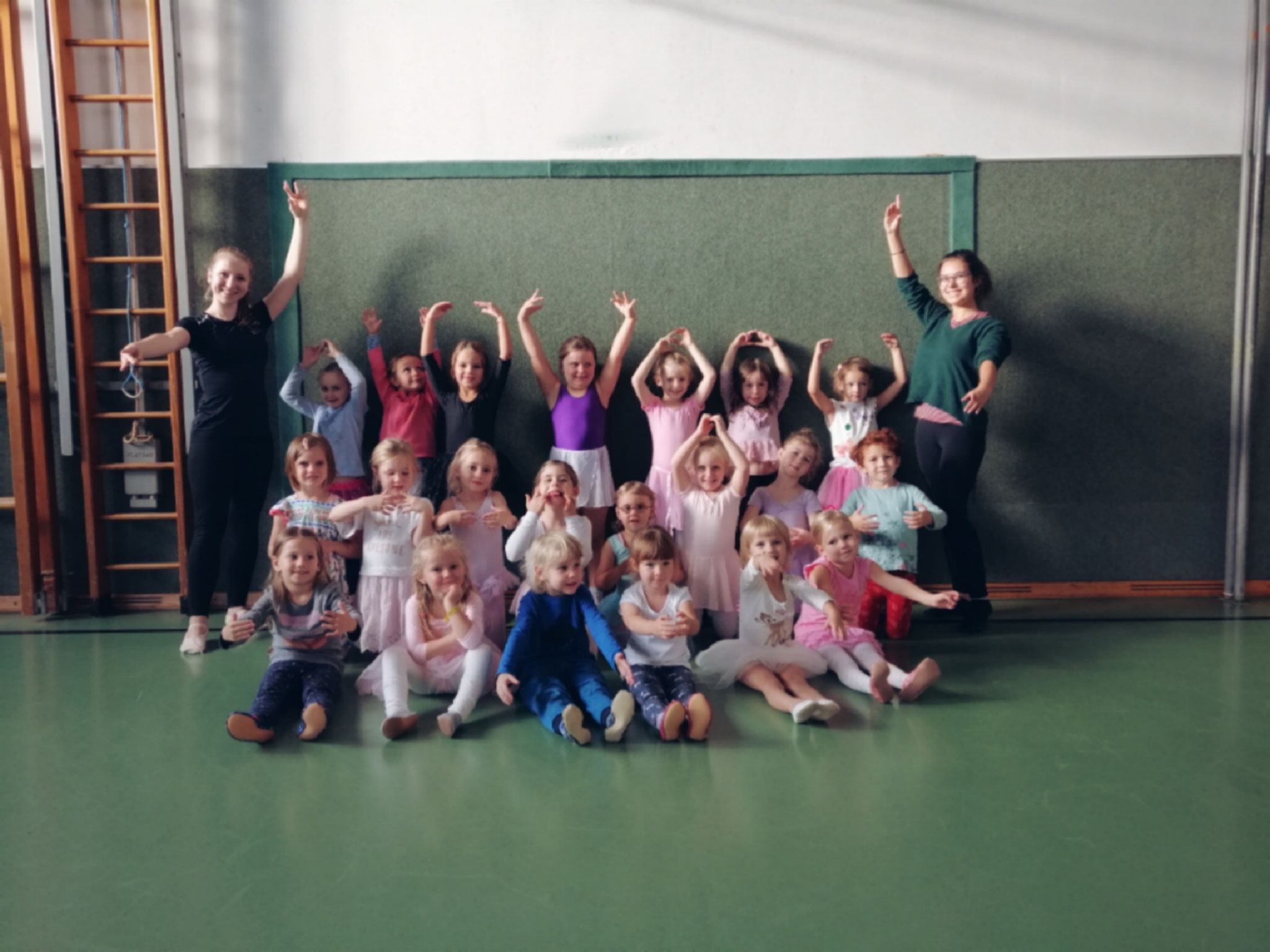 Ballett Kiddies 1 - Kathi D. und Juliane
