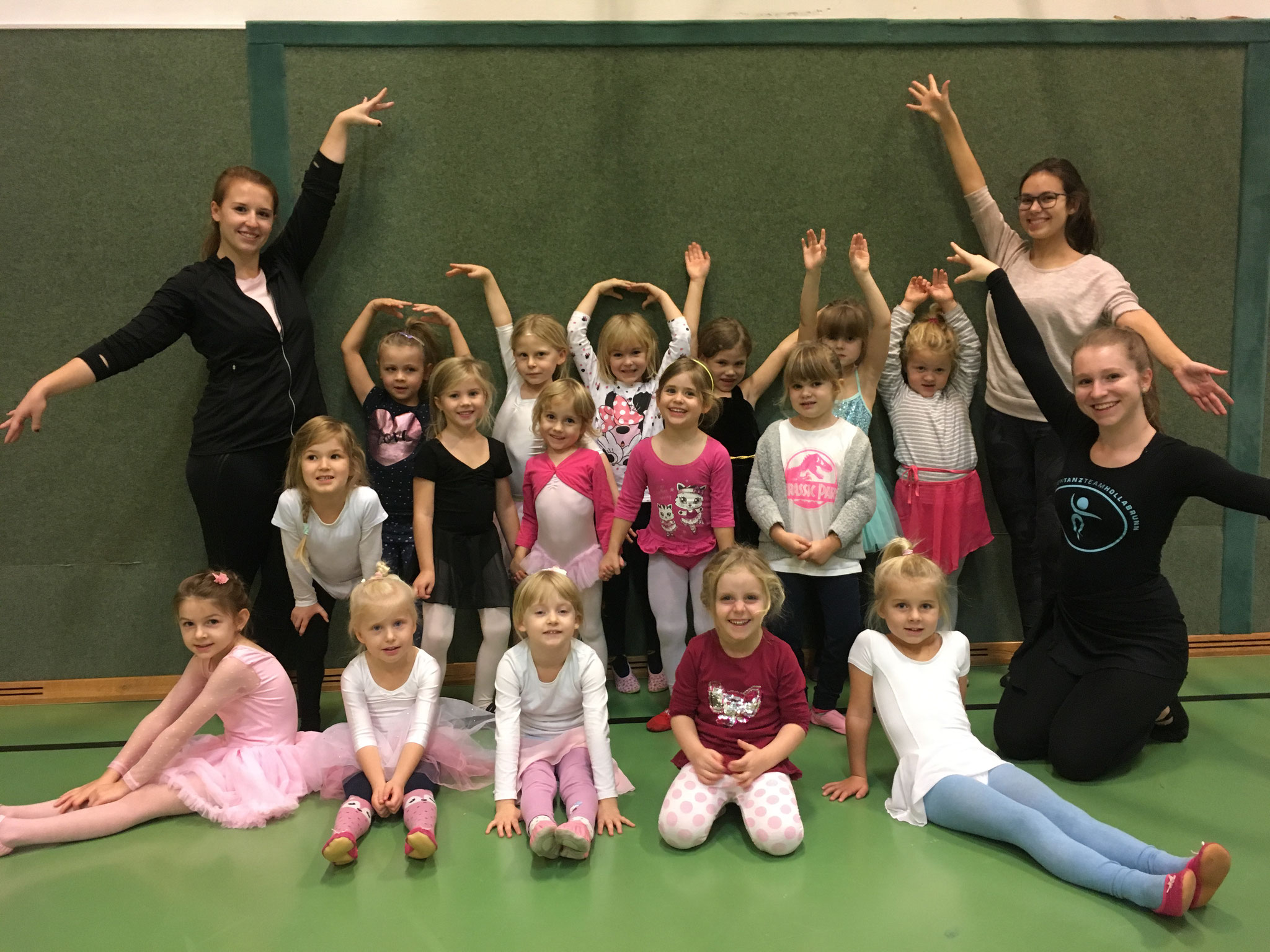 Ballett Kiddies - Juliane, Katharina & Patricia