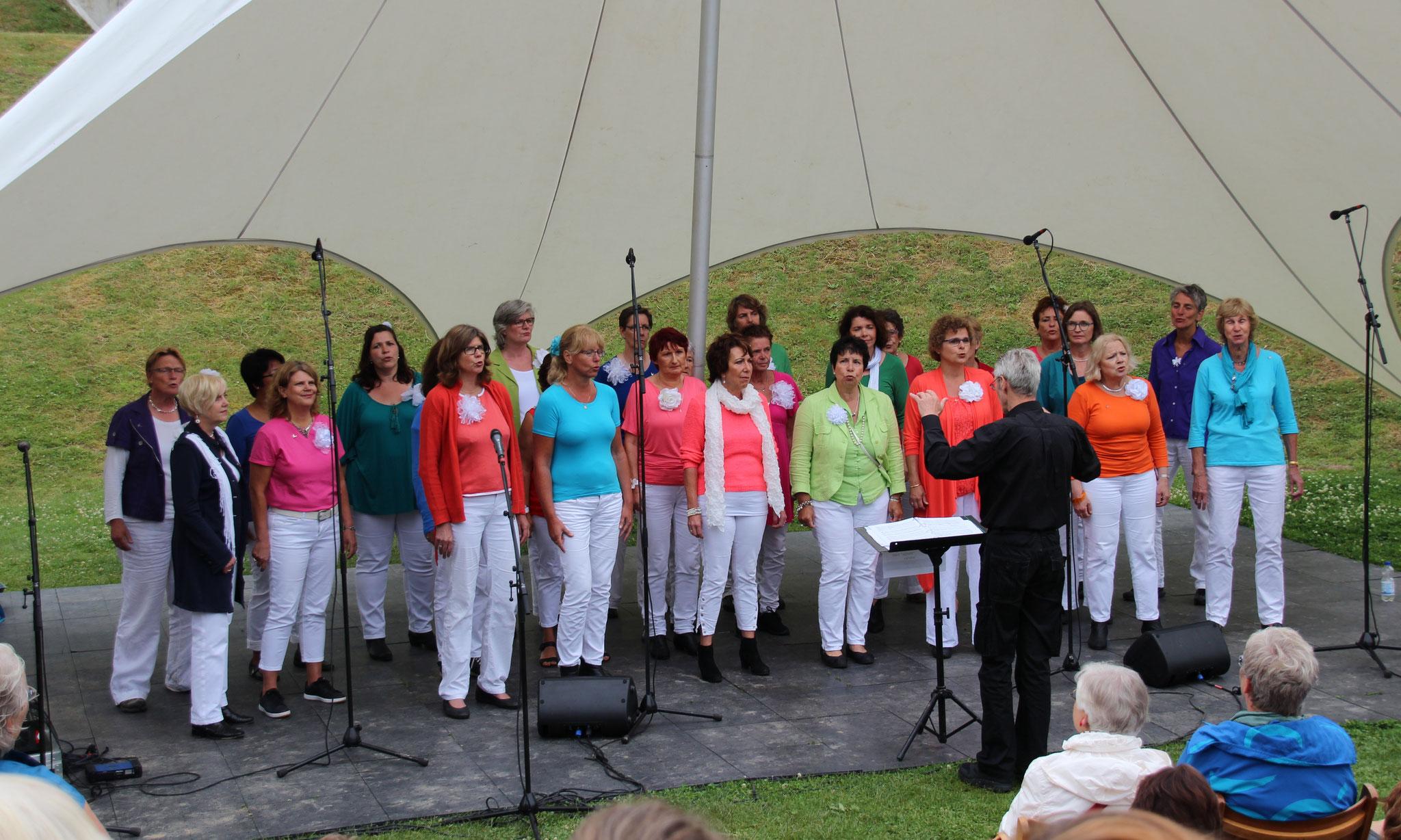 Korenfestival Buiten Gewoon Zingen, Culemborg. 25 juni 2017