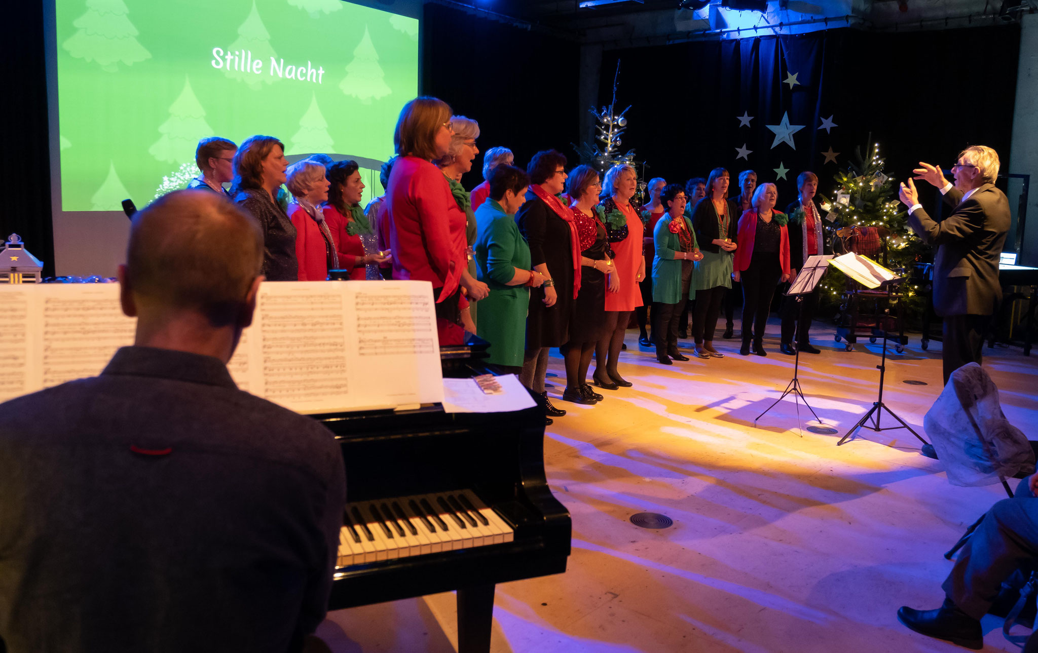 Kerstconcert OtherWise ChristmasWise Magic in the Air, Gelderlandfabriek, Culemborg, 22 december 2019
