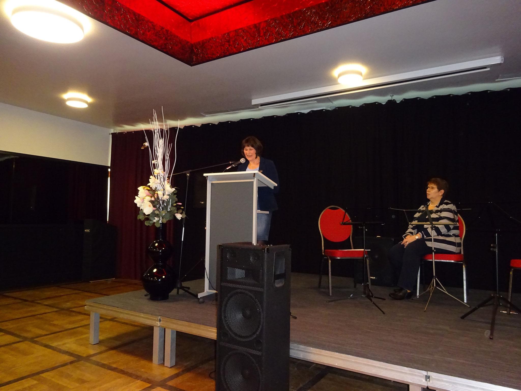 Grußwort Frau Petra Fahje,  Kreislandfrauenvorsitzende und Vertretung Landesverband