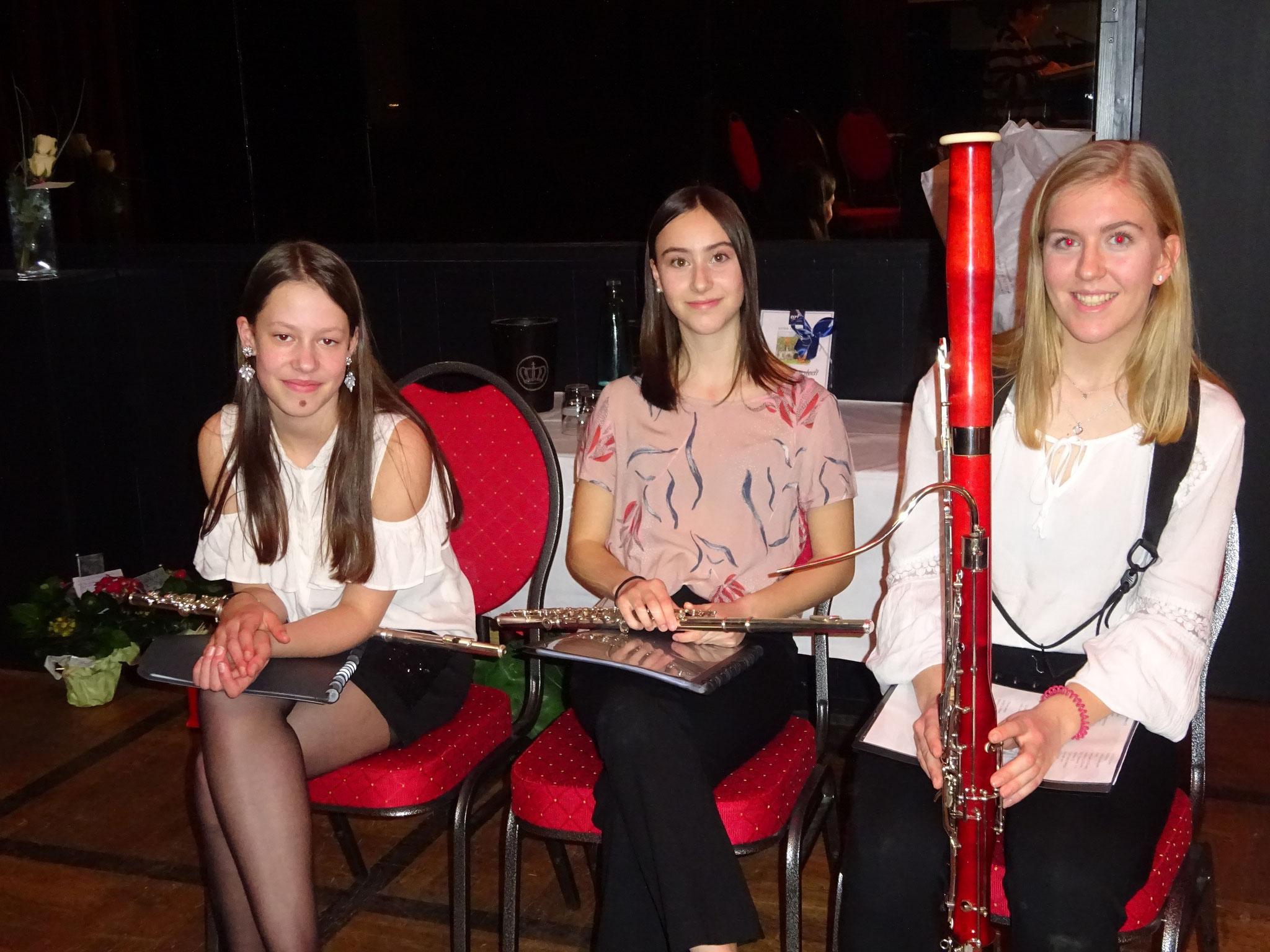 """Das Trio """"Tramee"""" von der Kreismusikschule"""