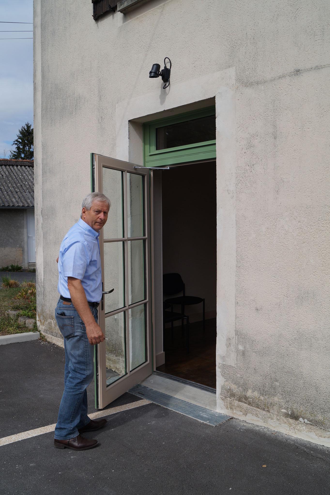 Éric Assier ouvre la porte d'un autre projet achevé.