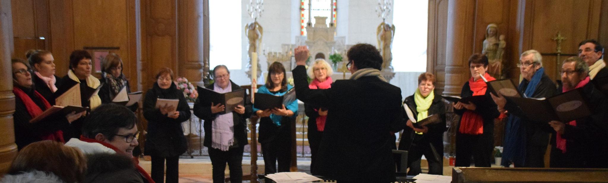 La chorale Cholory chante depuis 18 ans.
