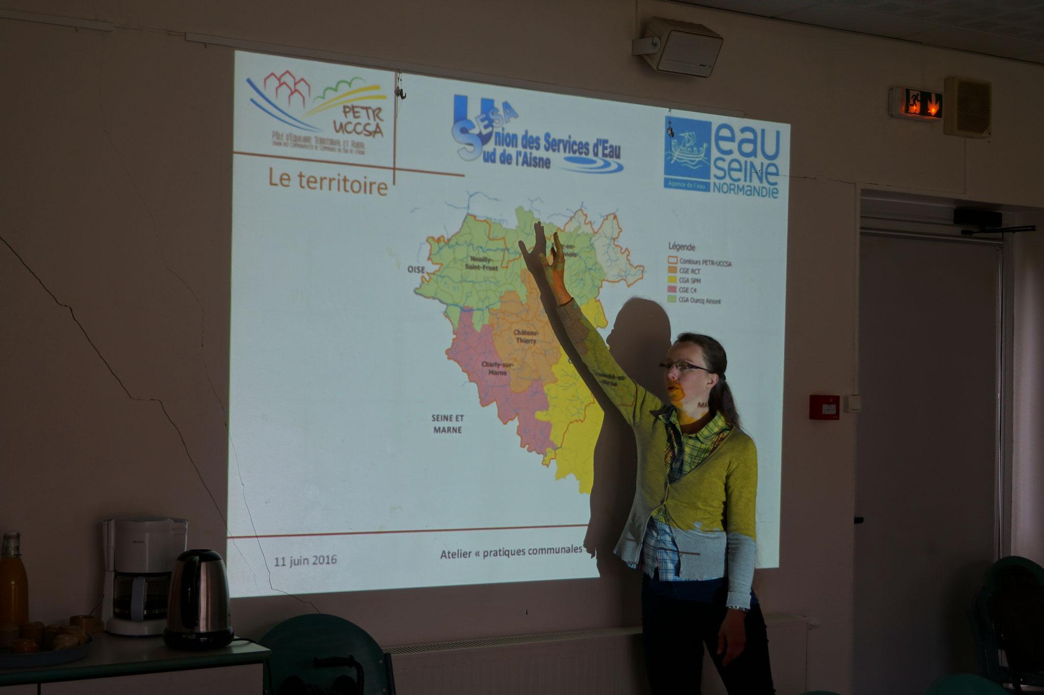 """Laetitia Morel, Chargée de mission """"Gestion durable des espaces publics"""" au PETR-UCCSA."""