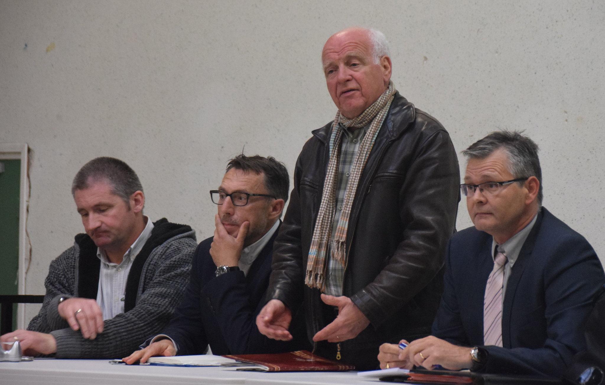 Jean-Paul Clerbois, maire de la commune d'Essômes-sur-Marne.