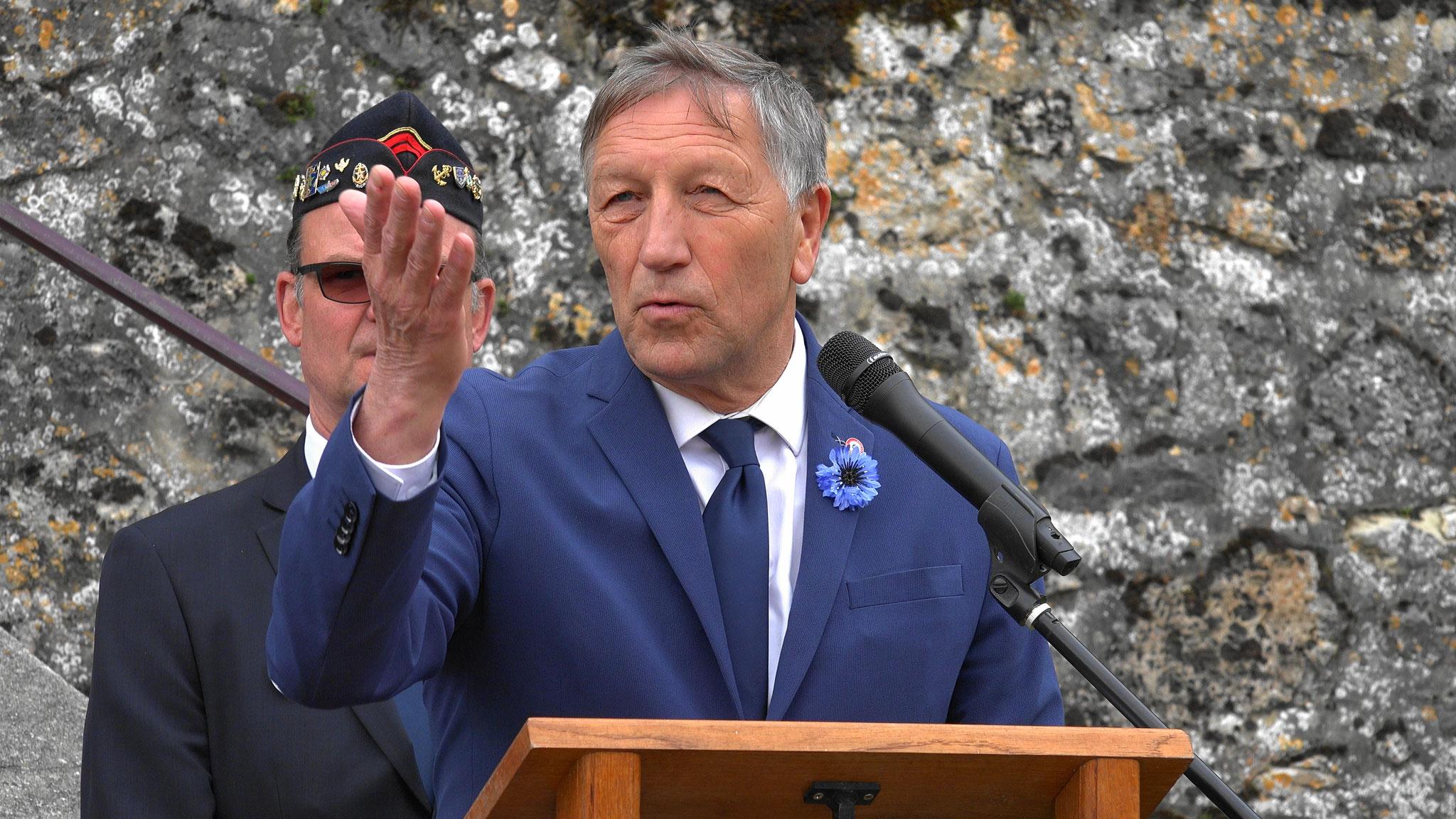 Jacques Krabal, député-maire de Château-Thierry.