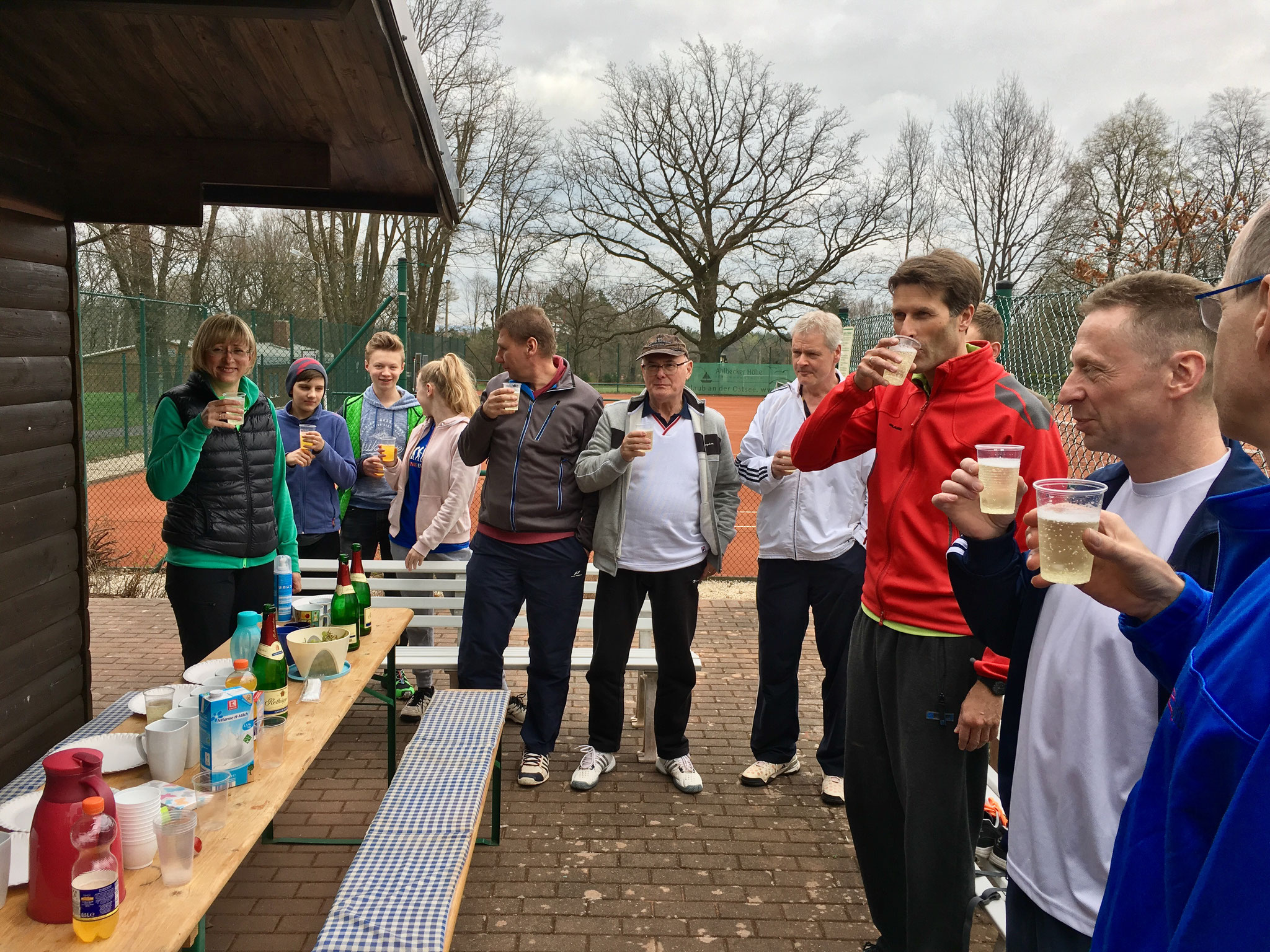 Das erste Zielwasser der Saison 2017