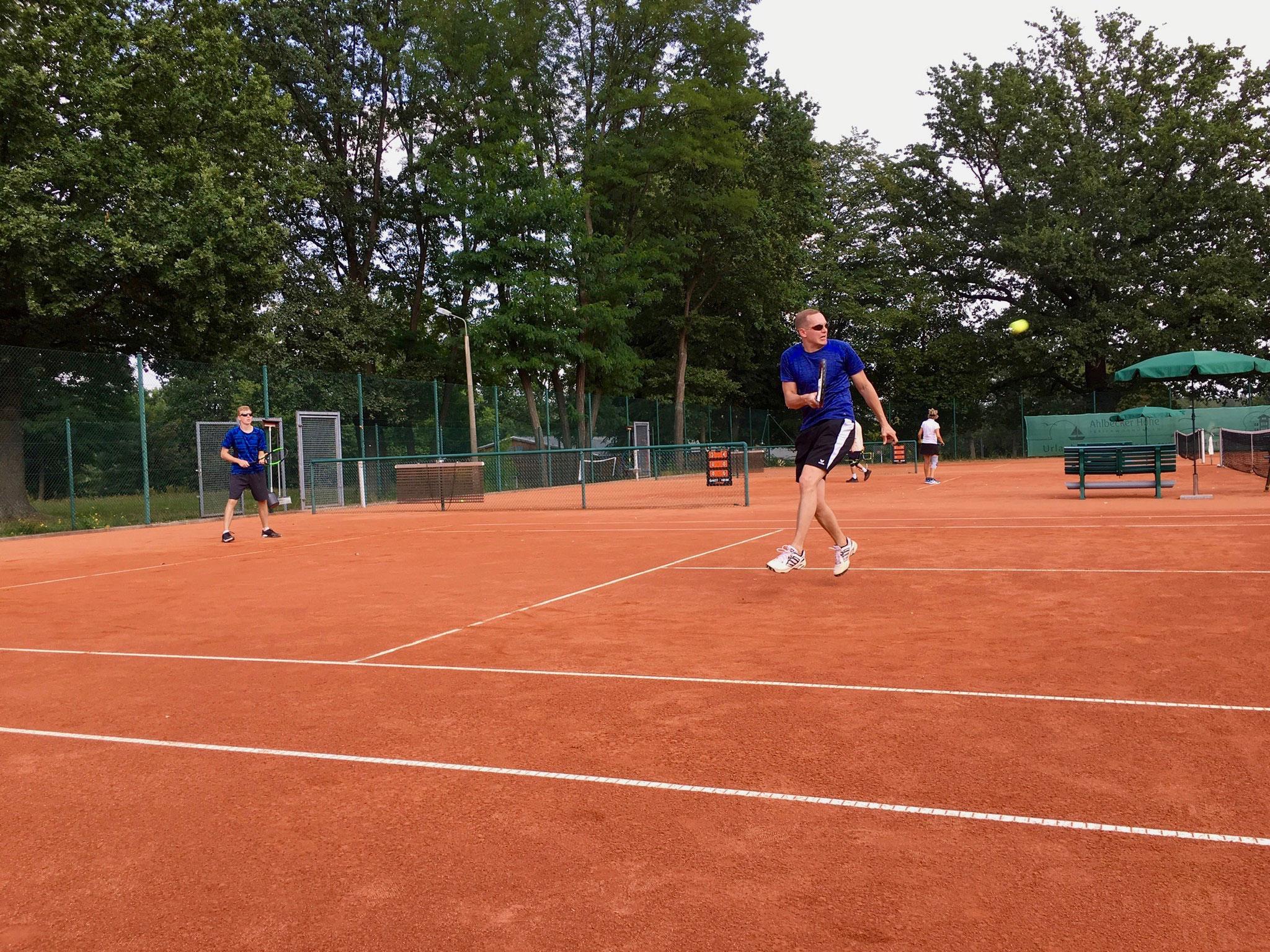 Im Finale spielten Martin und Daniel gegen...