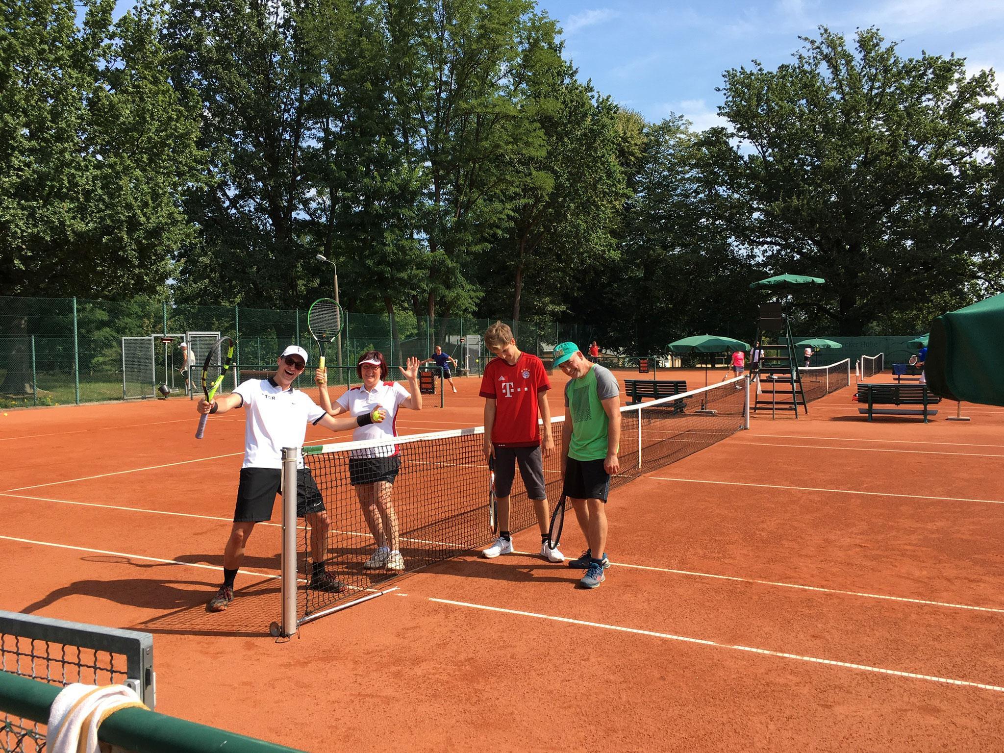 Freud und Leid liegt beim Tennis sehr nah beieinander