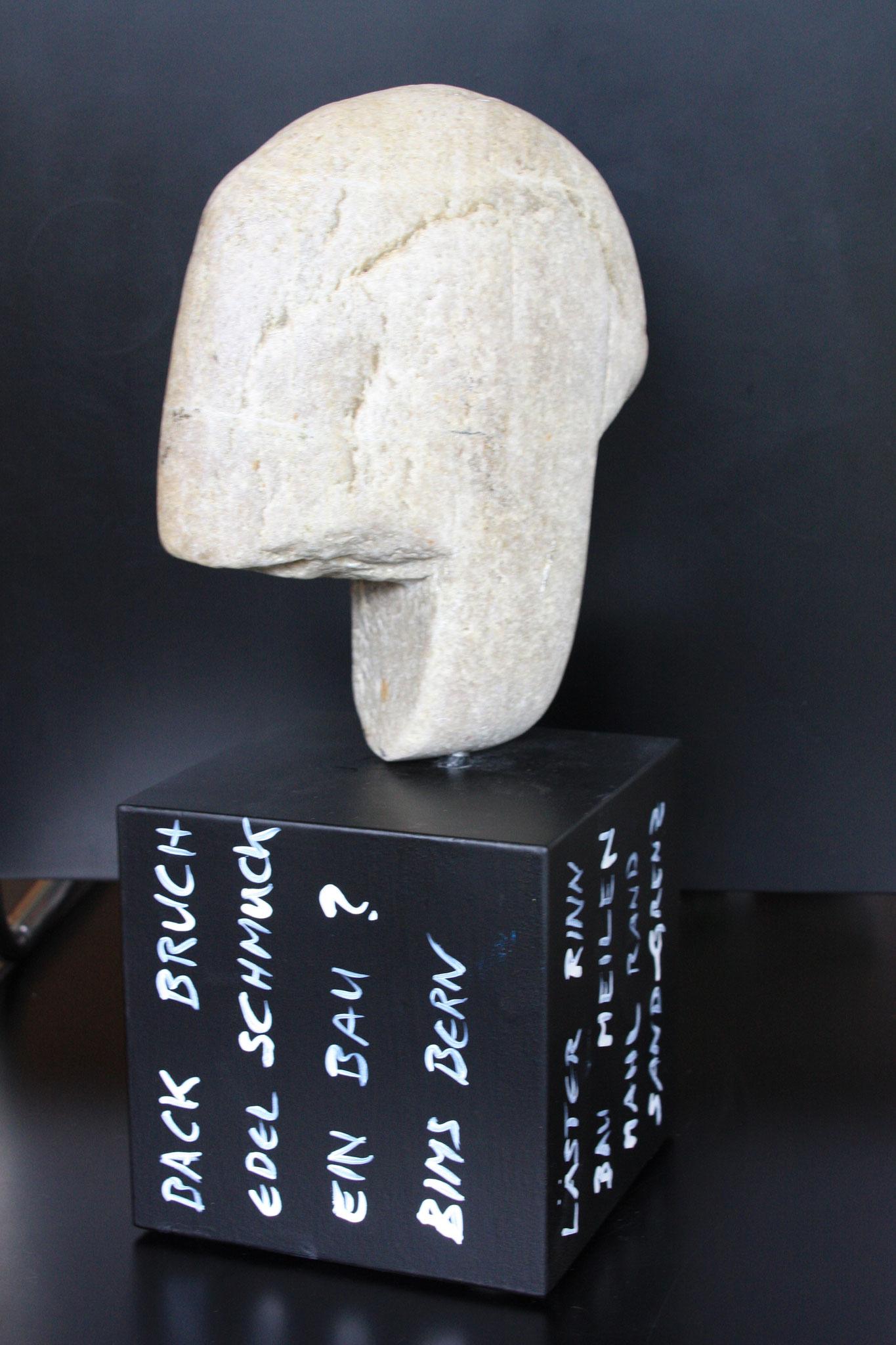 Kopfstein, 2013 - unverkäuflich