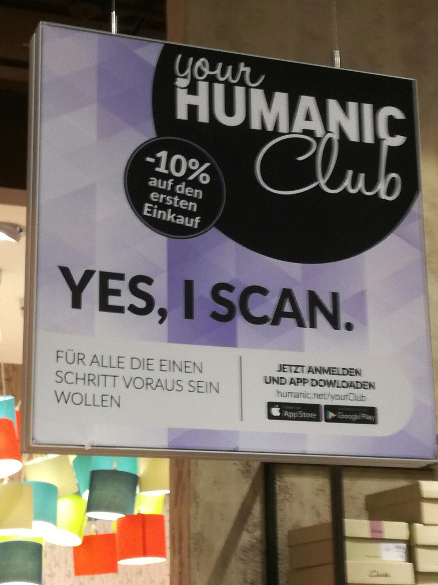 HUMANIC Club Kampagne