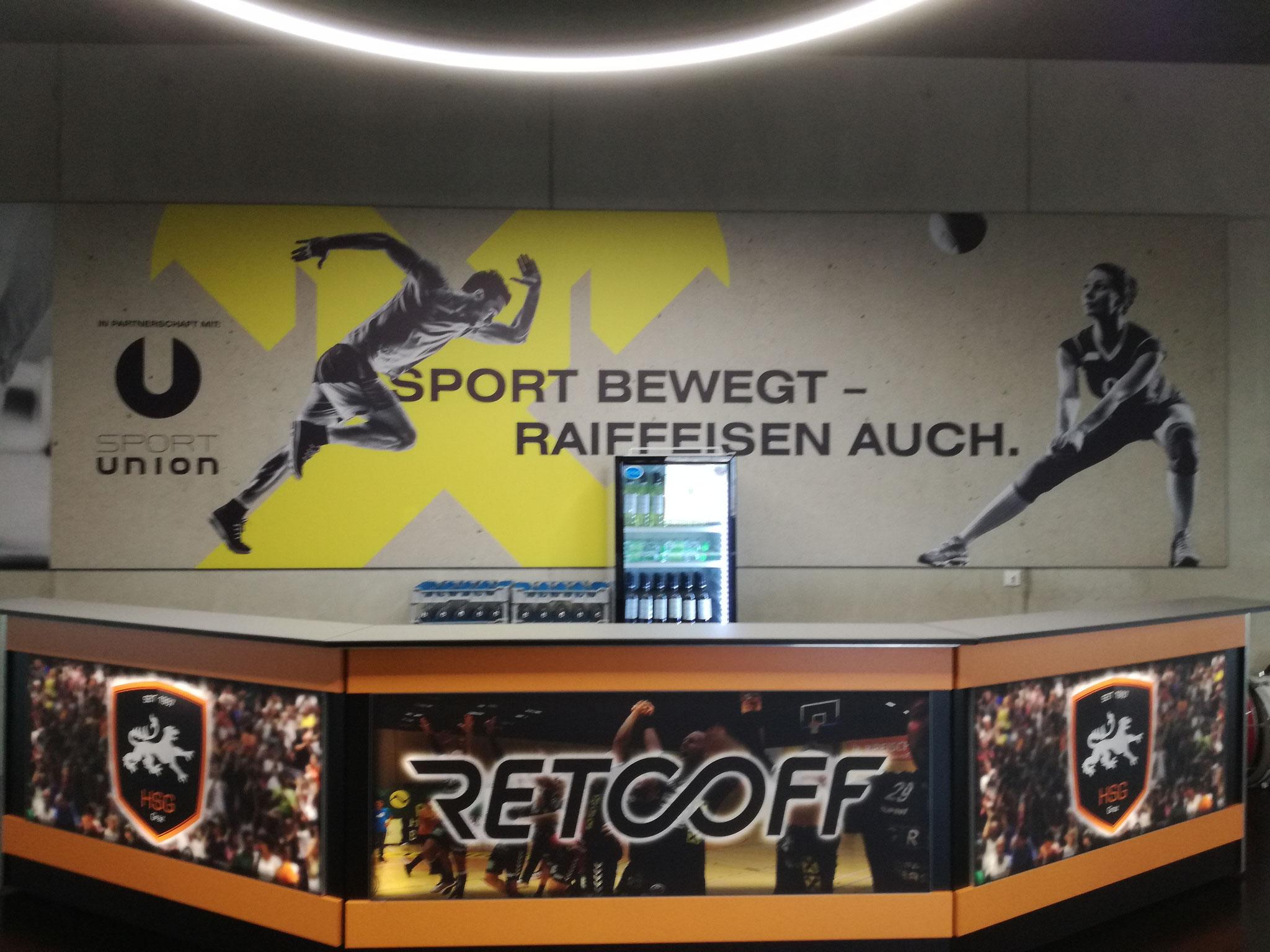Raiffeisen Sportpark Imageplakate (josefundmaria)