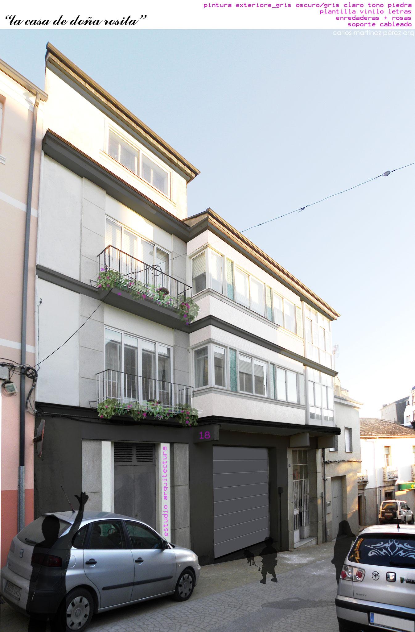Proyecto de reforma integral edificio en Ourense